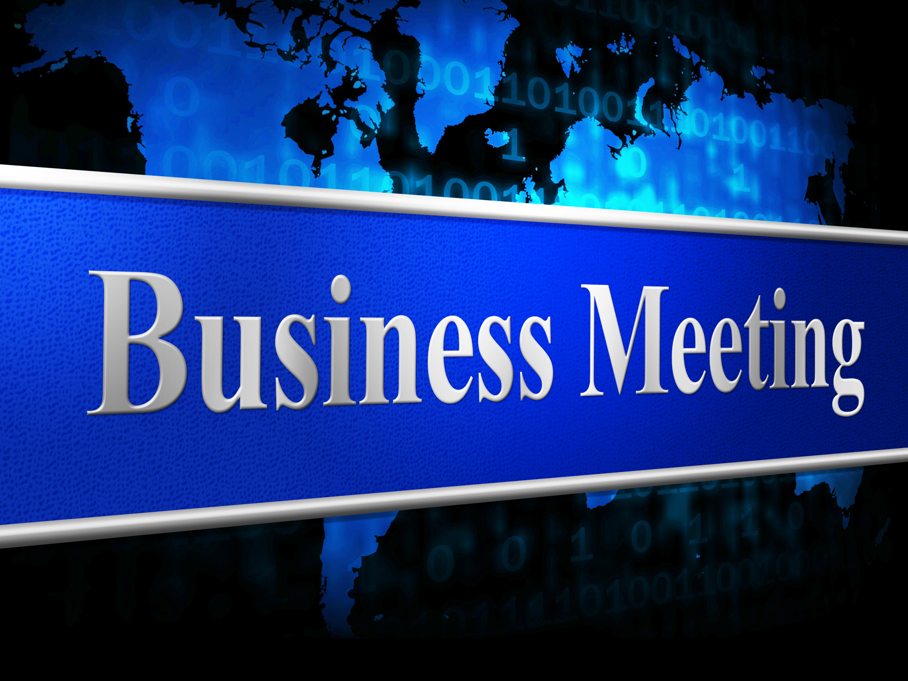 Meetings business indicates convene conference and commerce photo