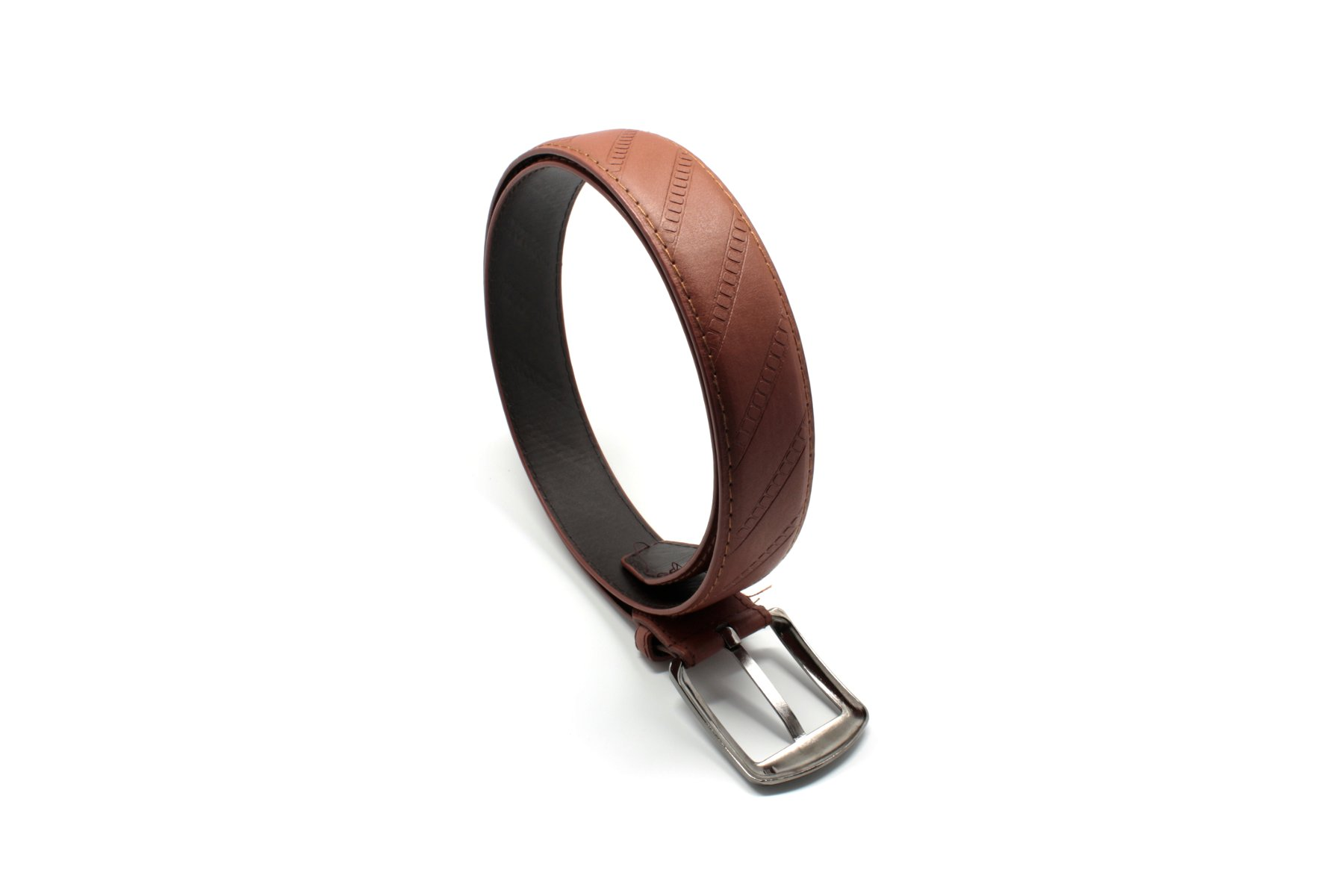 Men leather belt photo