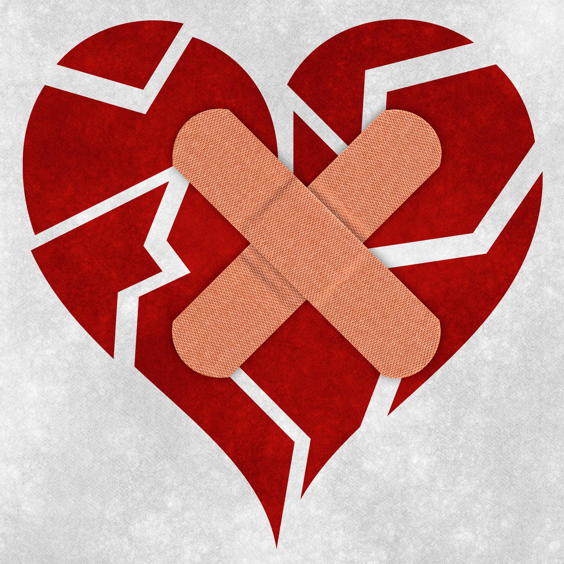 Mending a broken heart photo