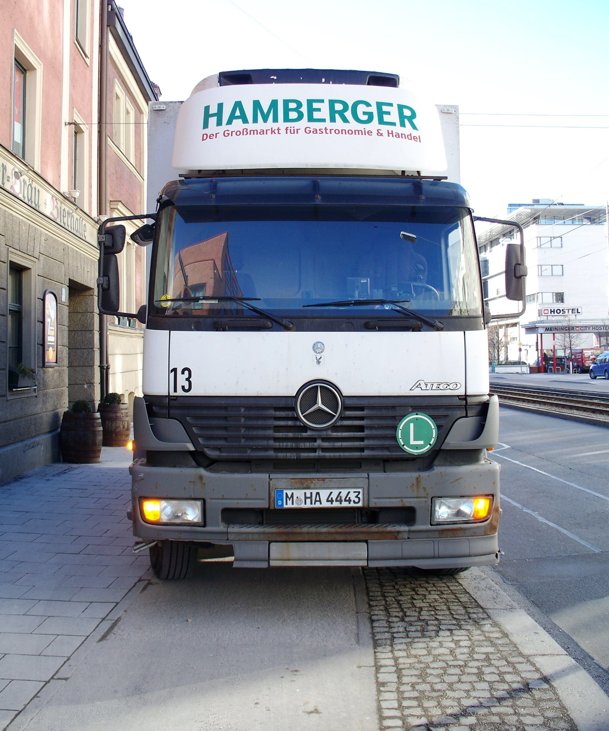 Mercedes atego truck photo