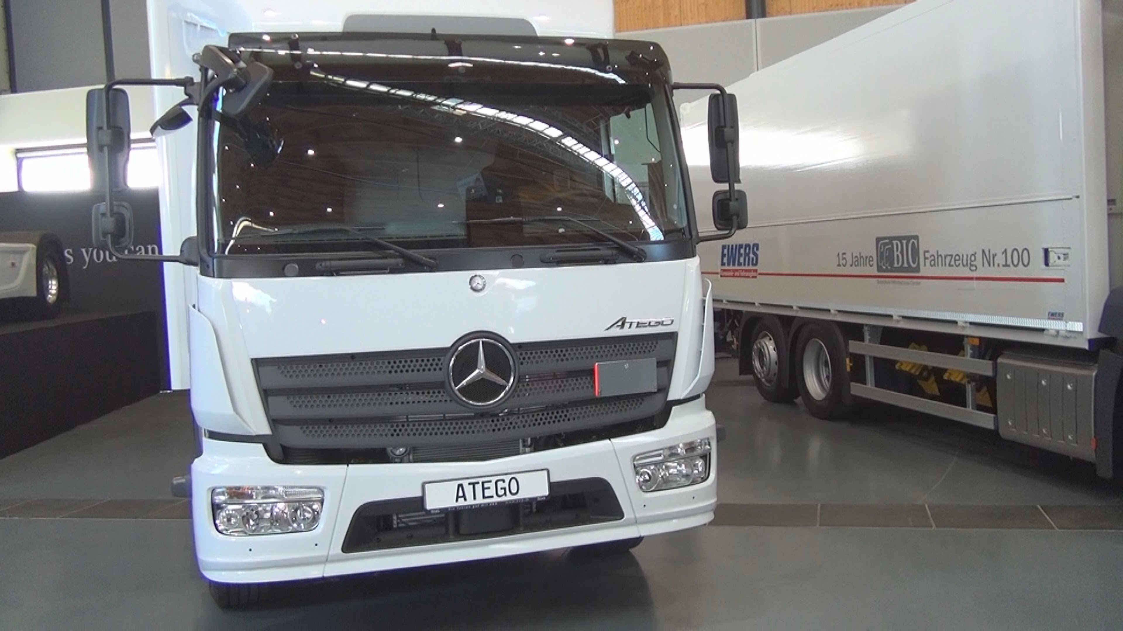 Mercedes-Benz Atego 1224 Junge (2016) Exterior and Interior in 3D ...