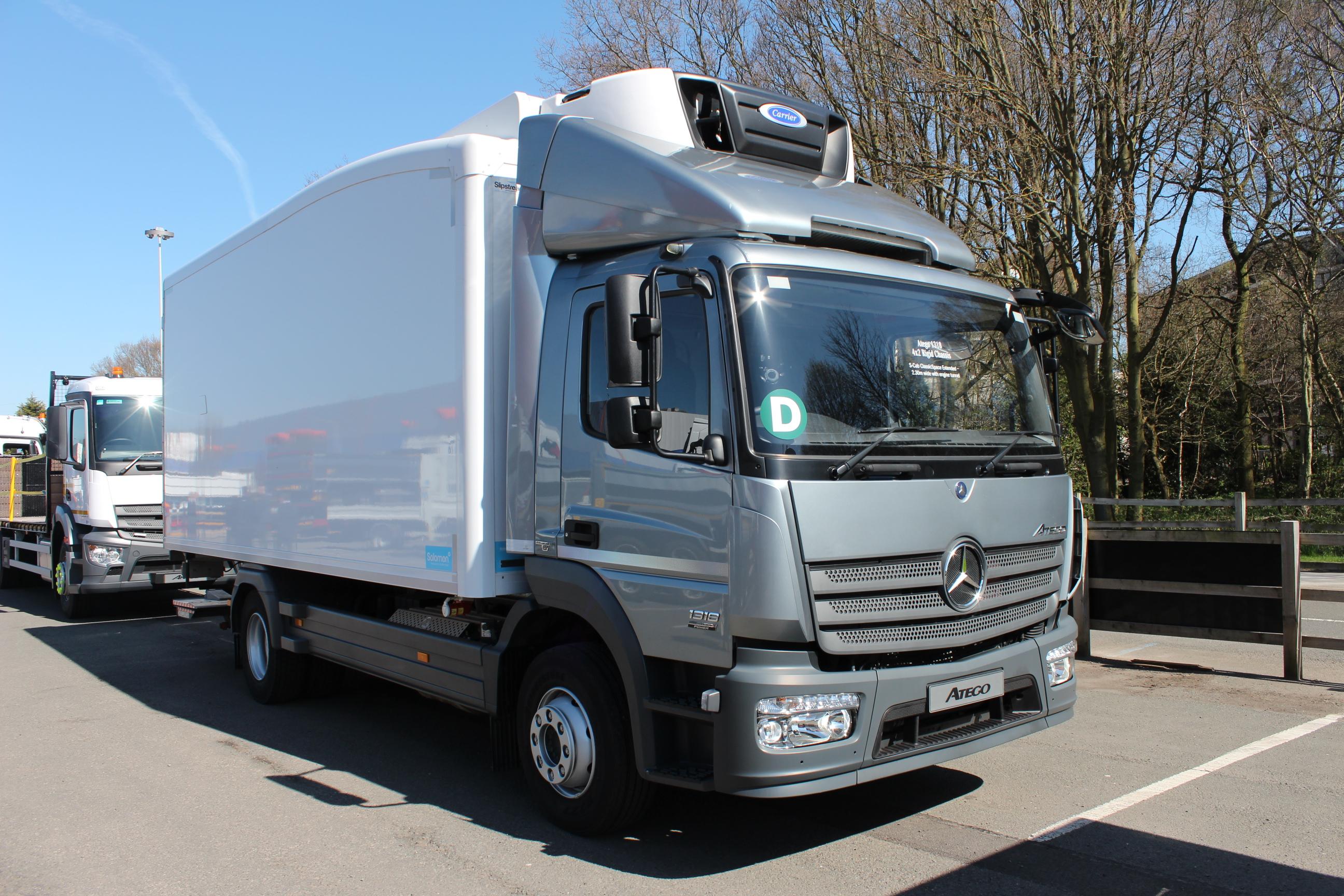 Mercedes Atego Aerodynamic fridge truck - Commercial Vehicle Dealer
