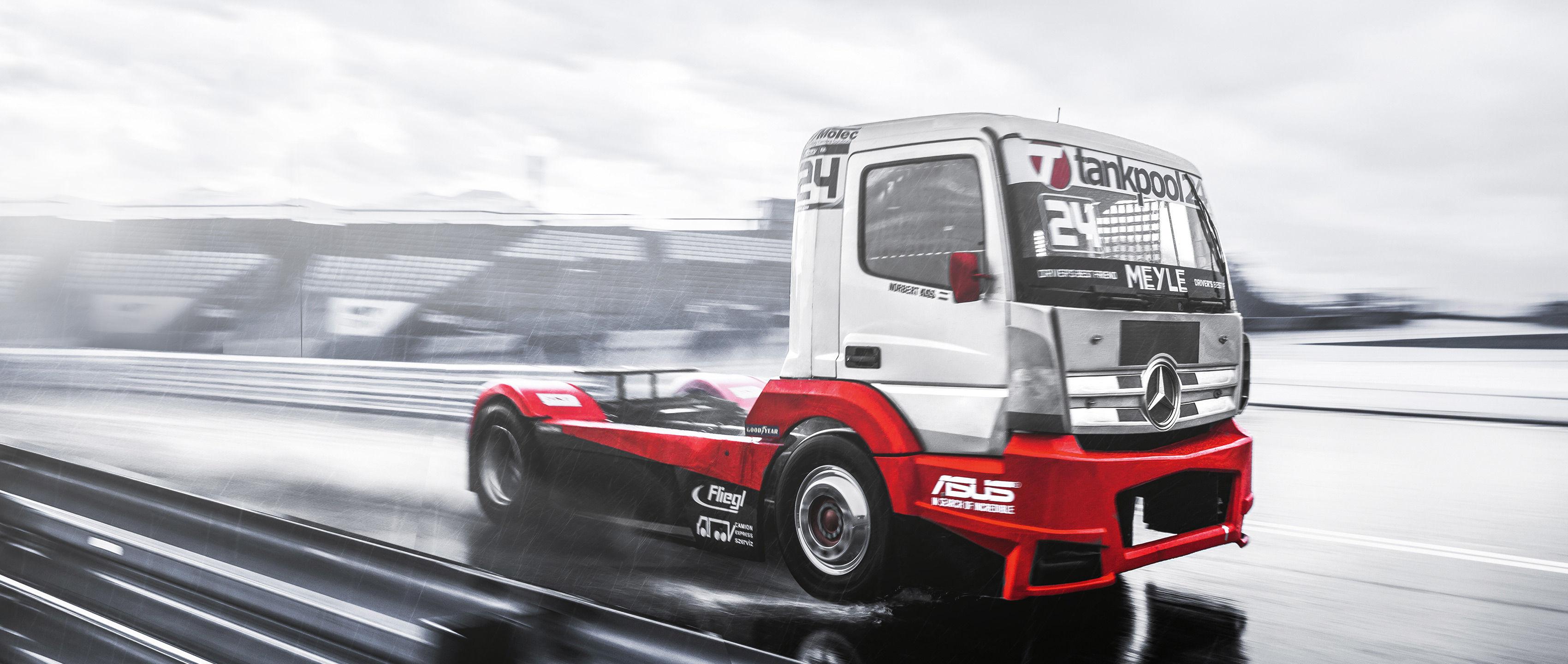 Mercedes-Benz Actros: European Truck Racing Championship.