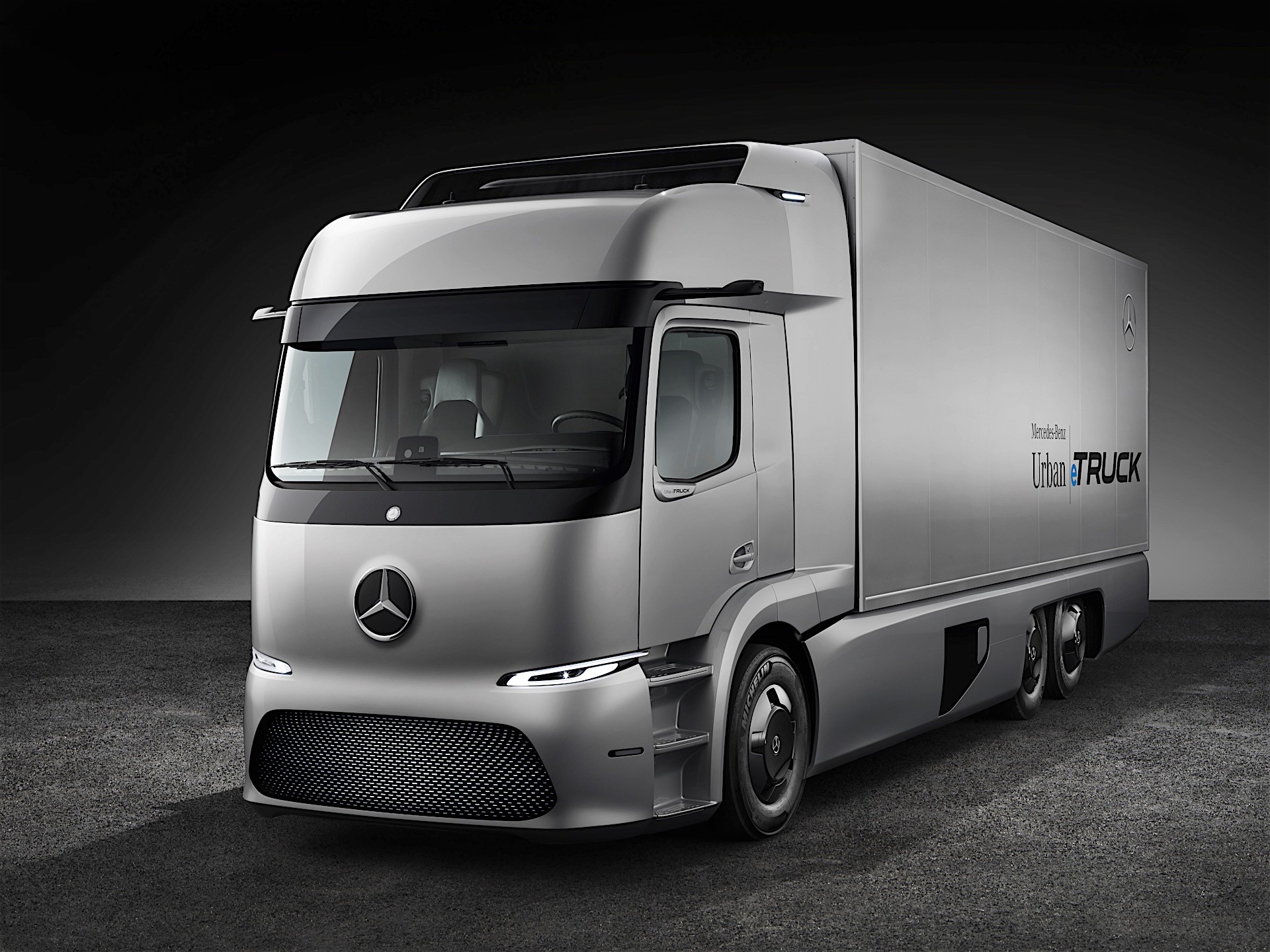 Mercedes-Benz Unveils Electric Truck Concept, It's Made For The City ...