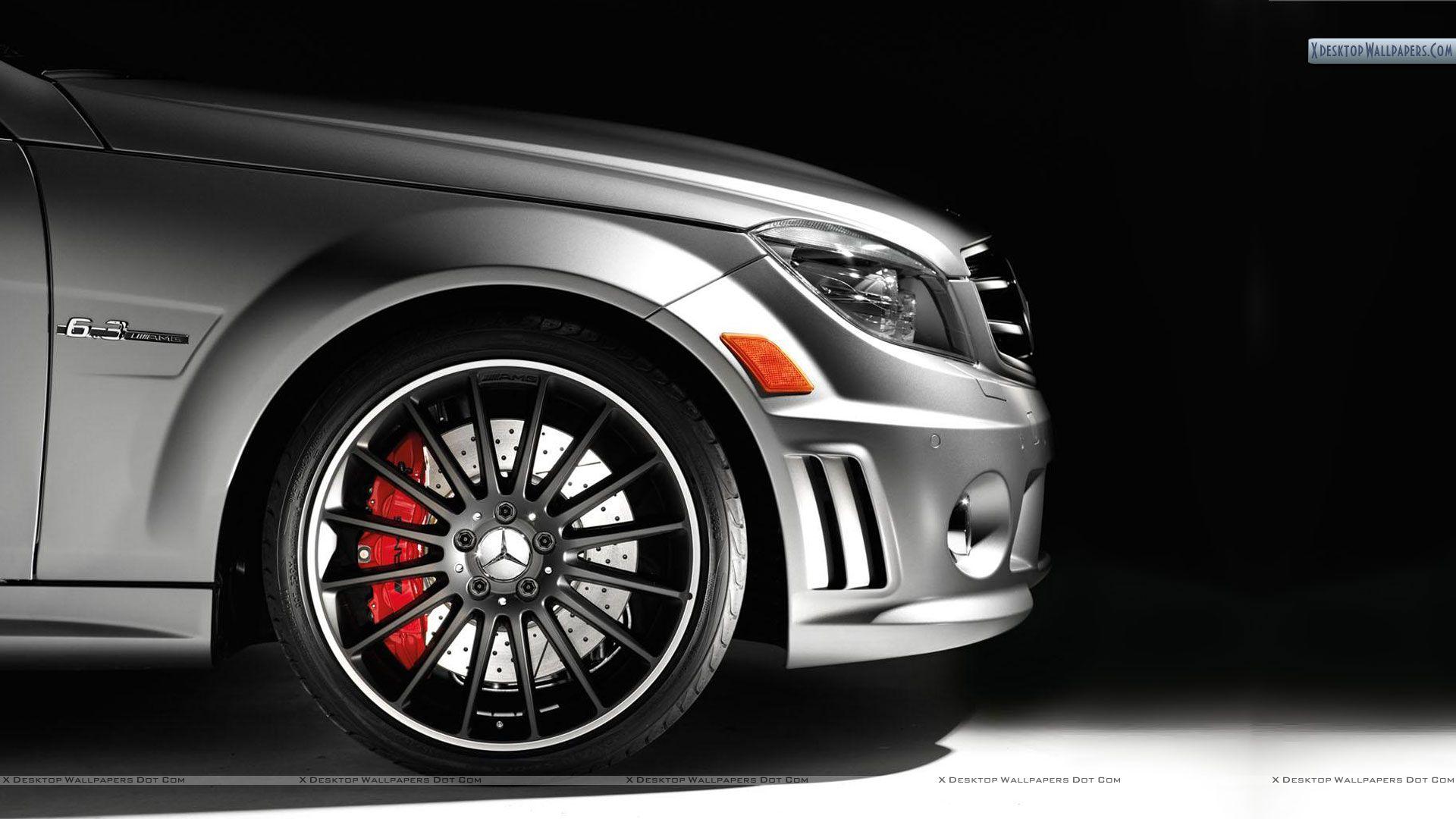 Mercedes tyre photo