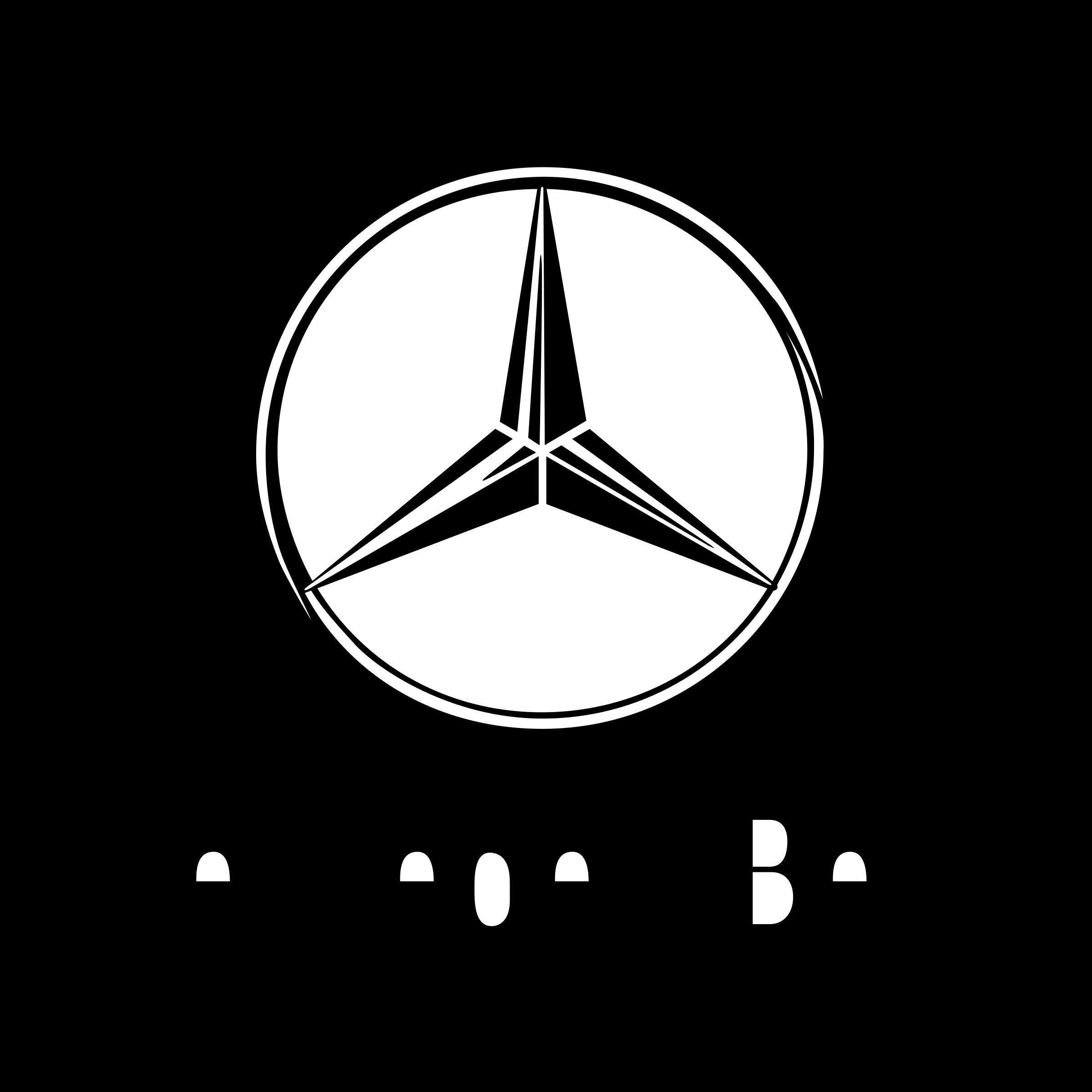 Mercedes Benz Logo PNG Transparent & SVG Vector - Freebie Supply