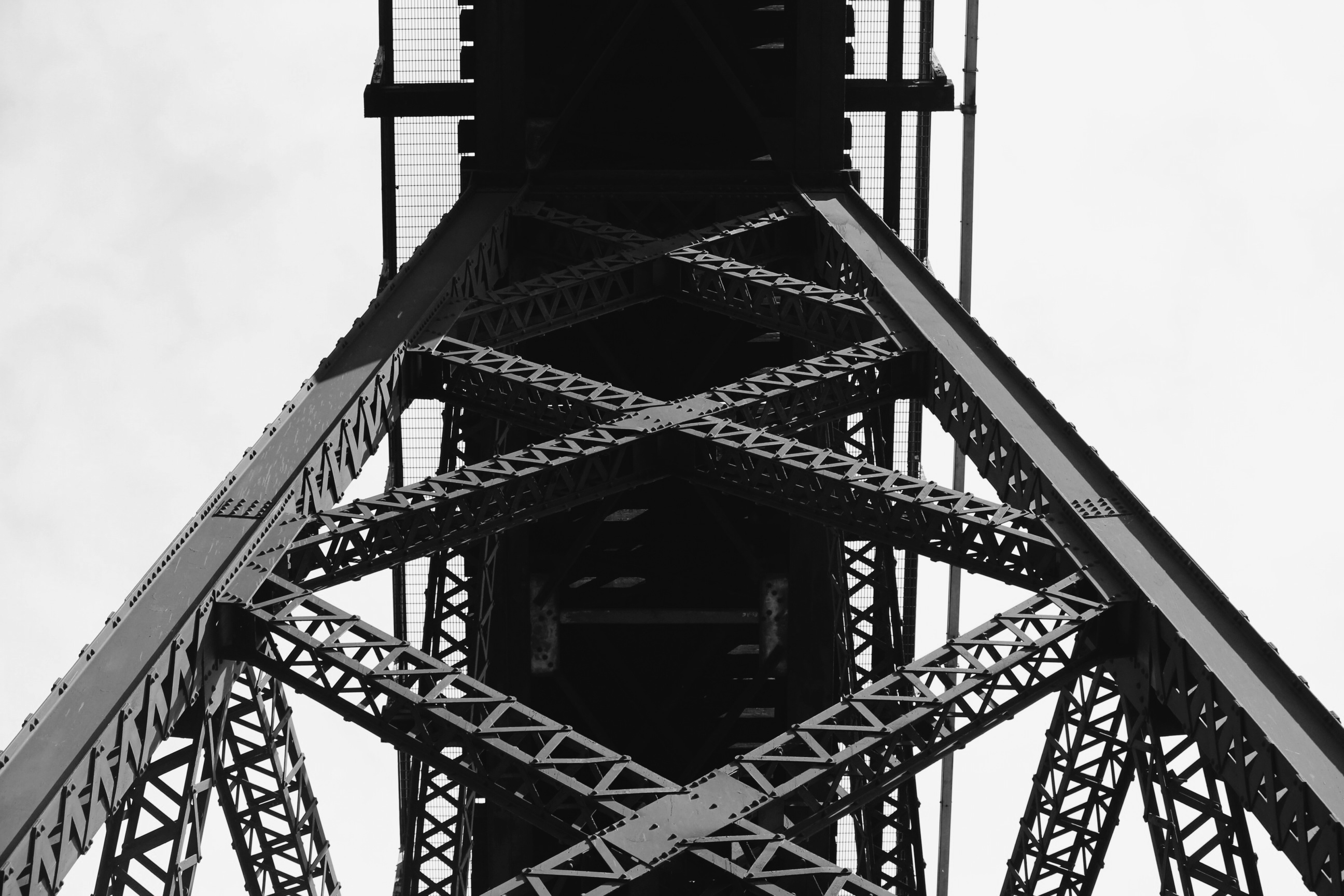 Metal, Steel, Heavy, Bridge, Construction, HQ Photo