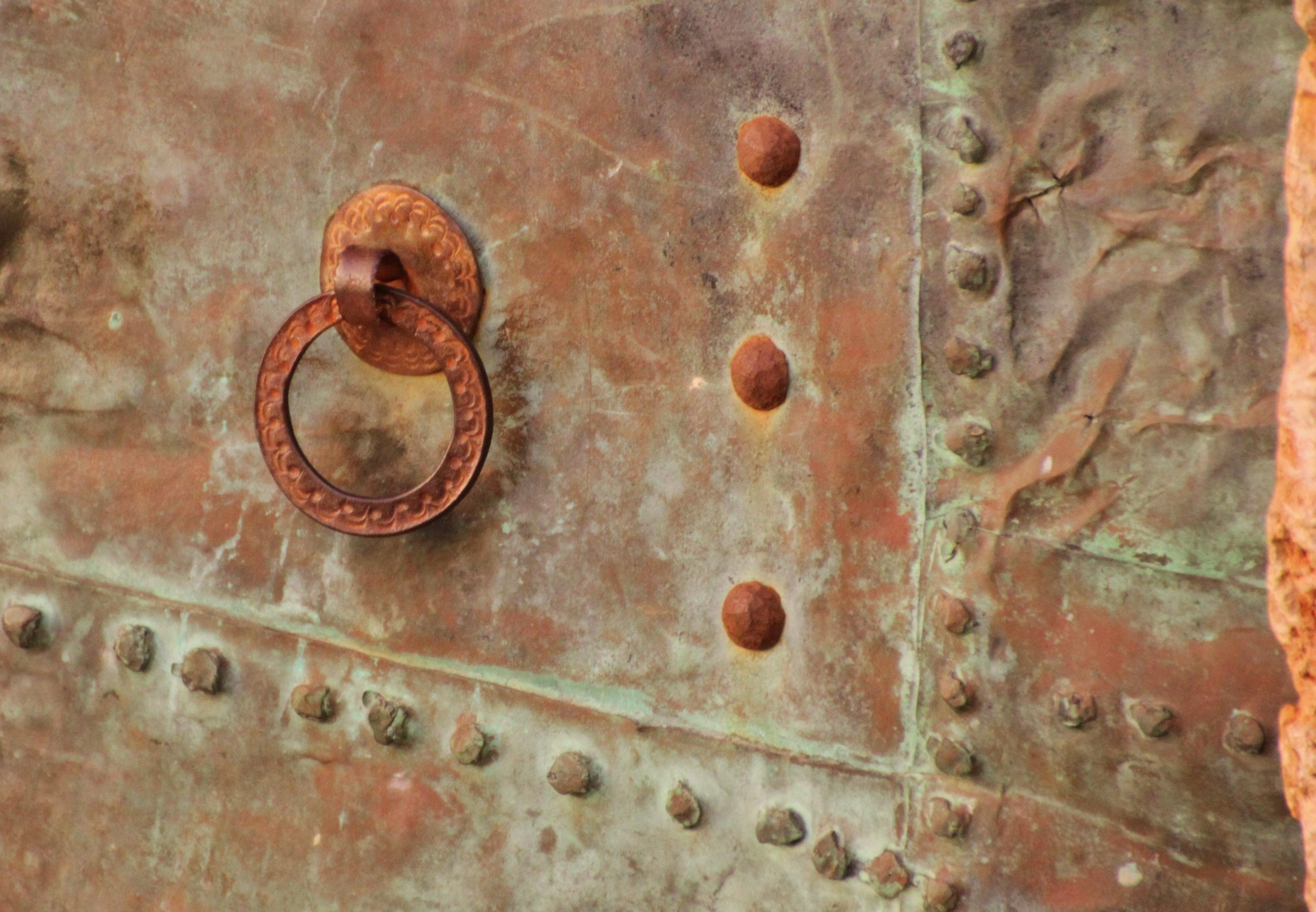 Metal, Rust, Exit, Entrance, Door, HQ Photo