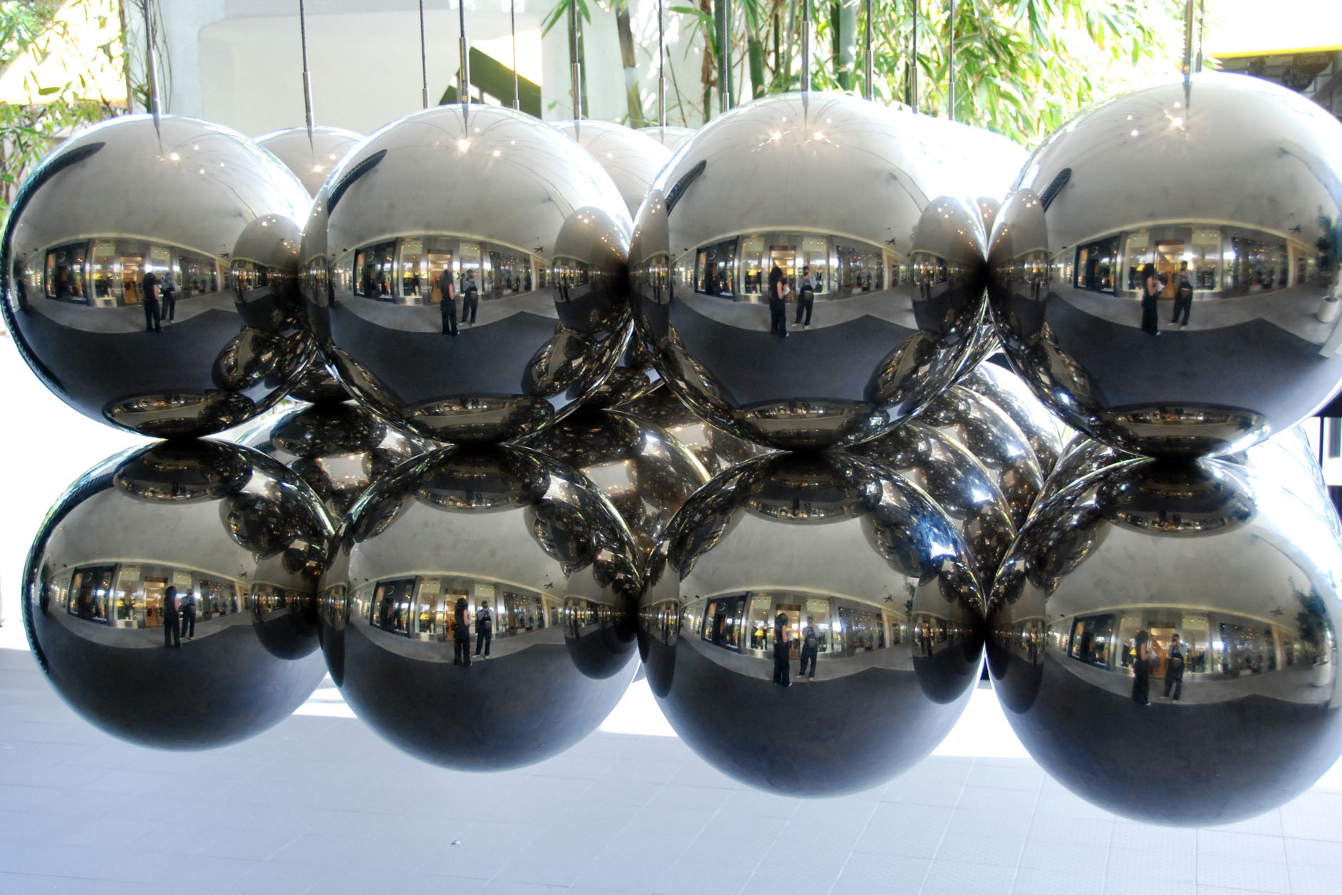 Metal balls, florida, january 2007 photo