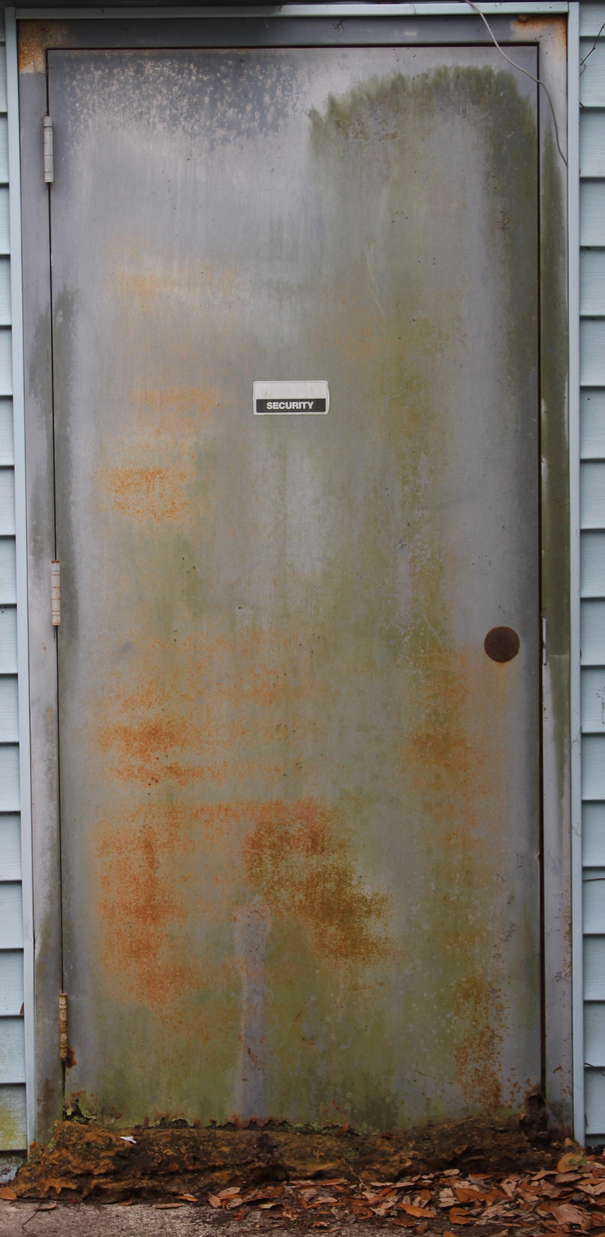 Dirty Metal Door Texture - Object textures