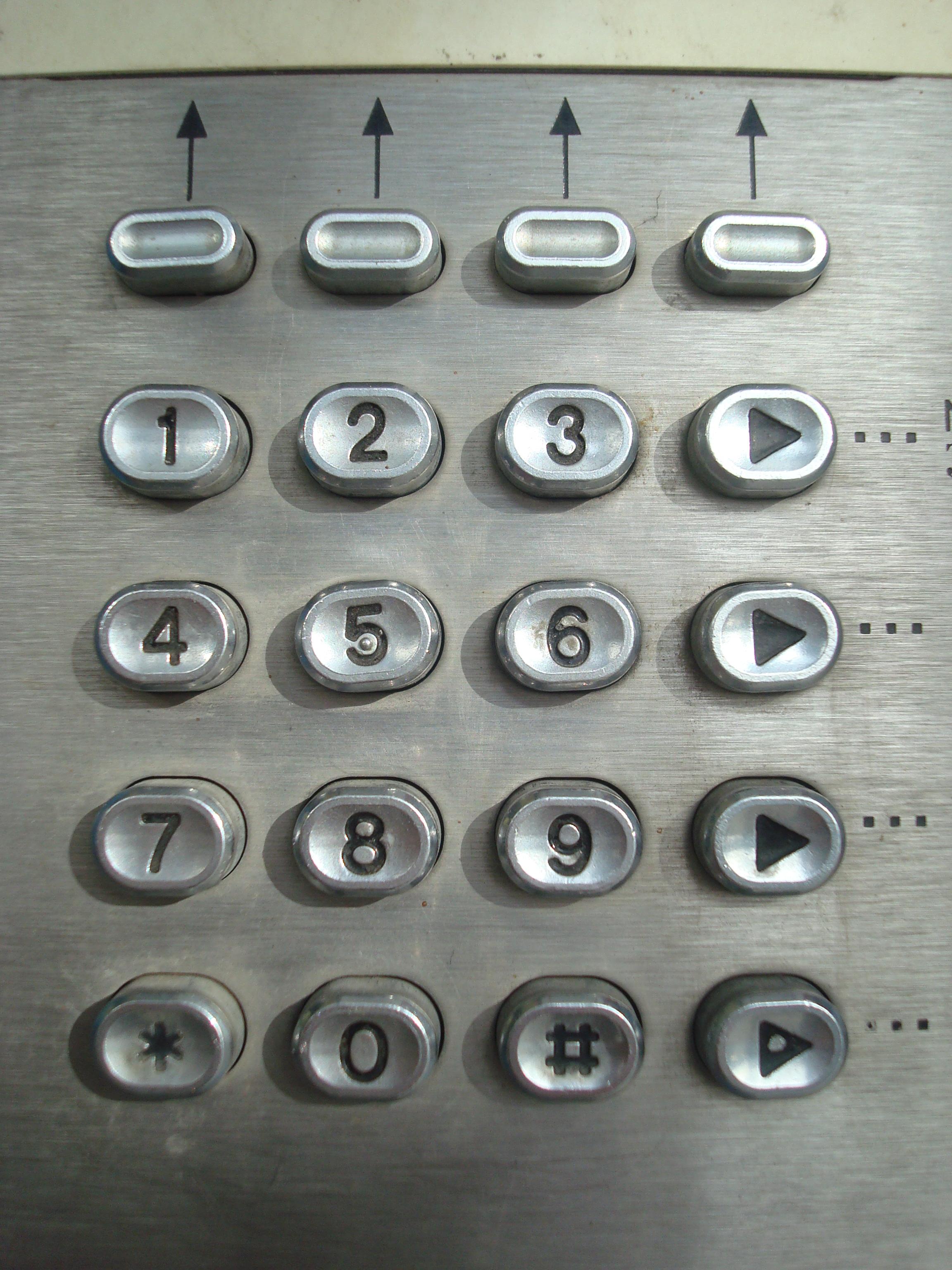 Free photo: Metal phone dial-pad - Seven, Phone, One - Free