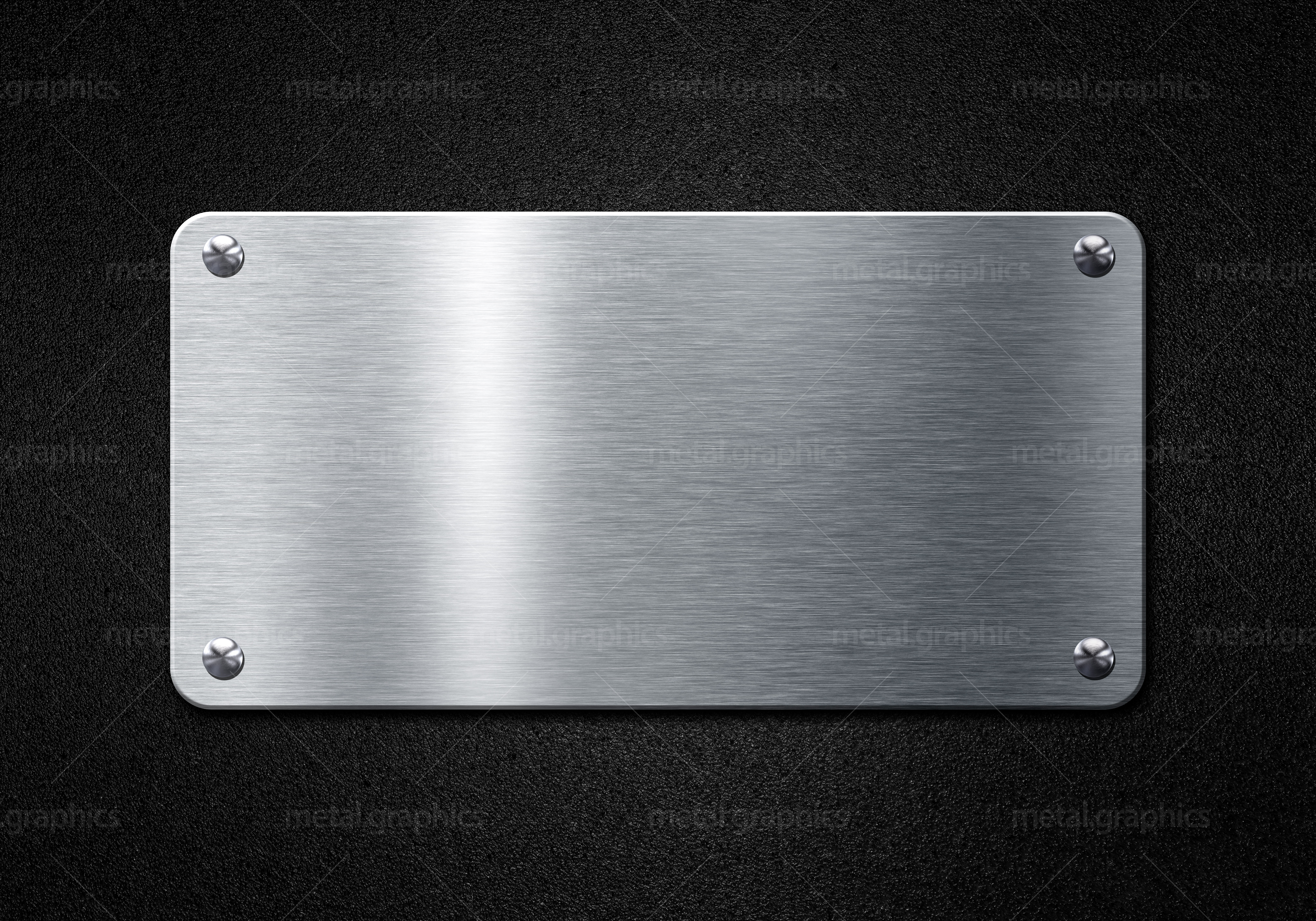 free photo  metal plate - screw  screws  scratched