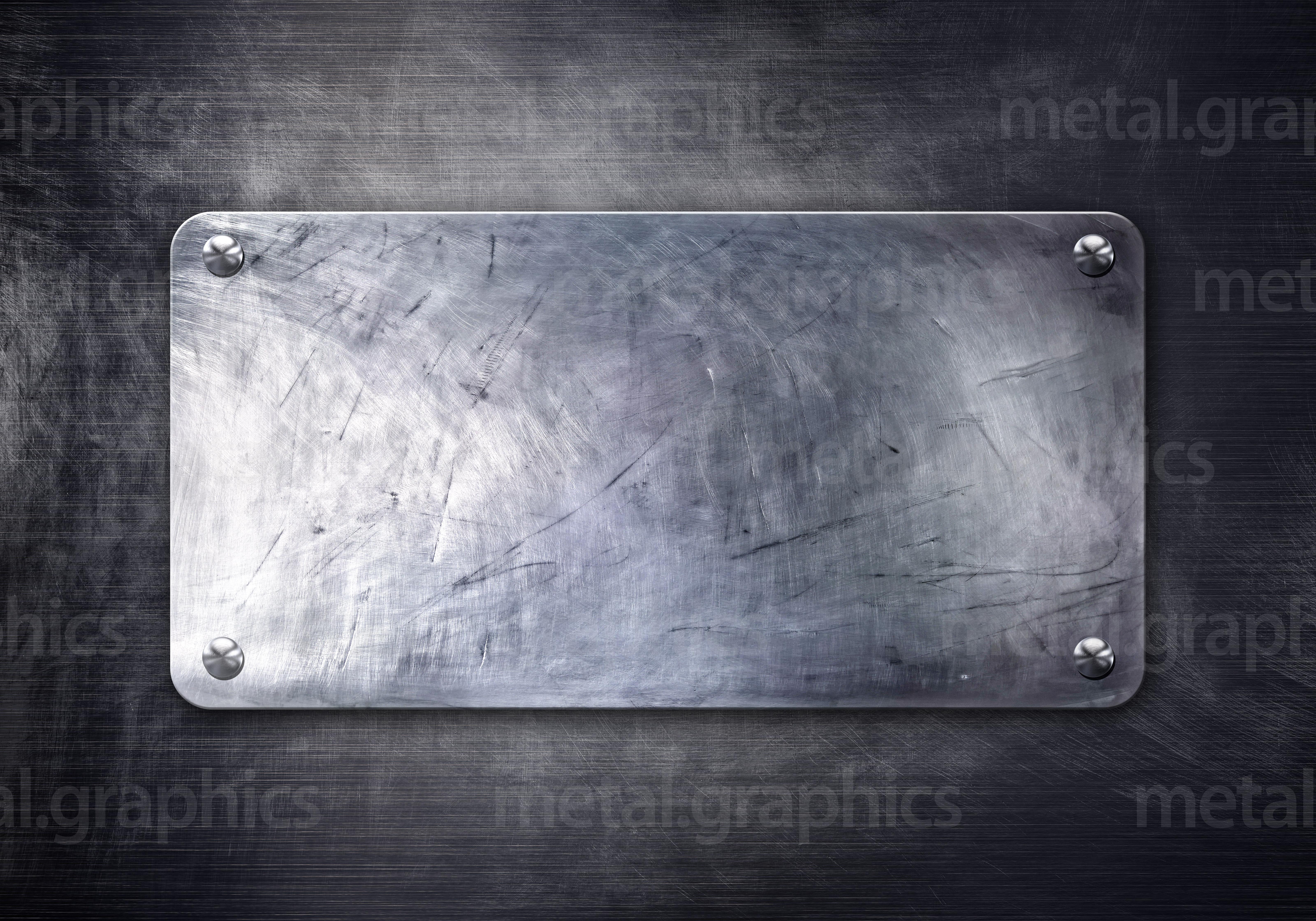 Old metal plate - Metal Graphics