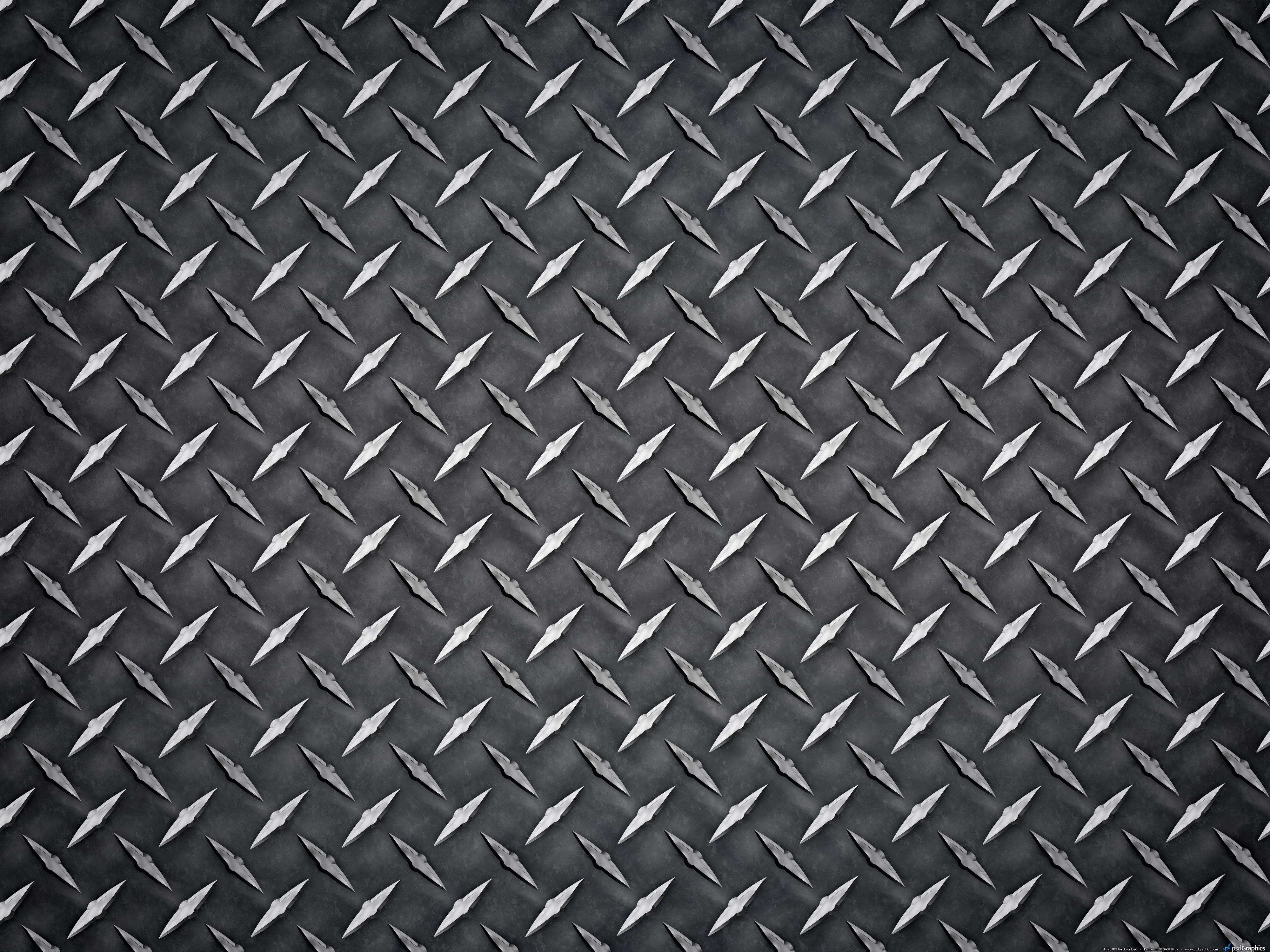 Metal diamond plate texture | PSDGraphics