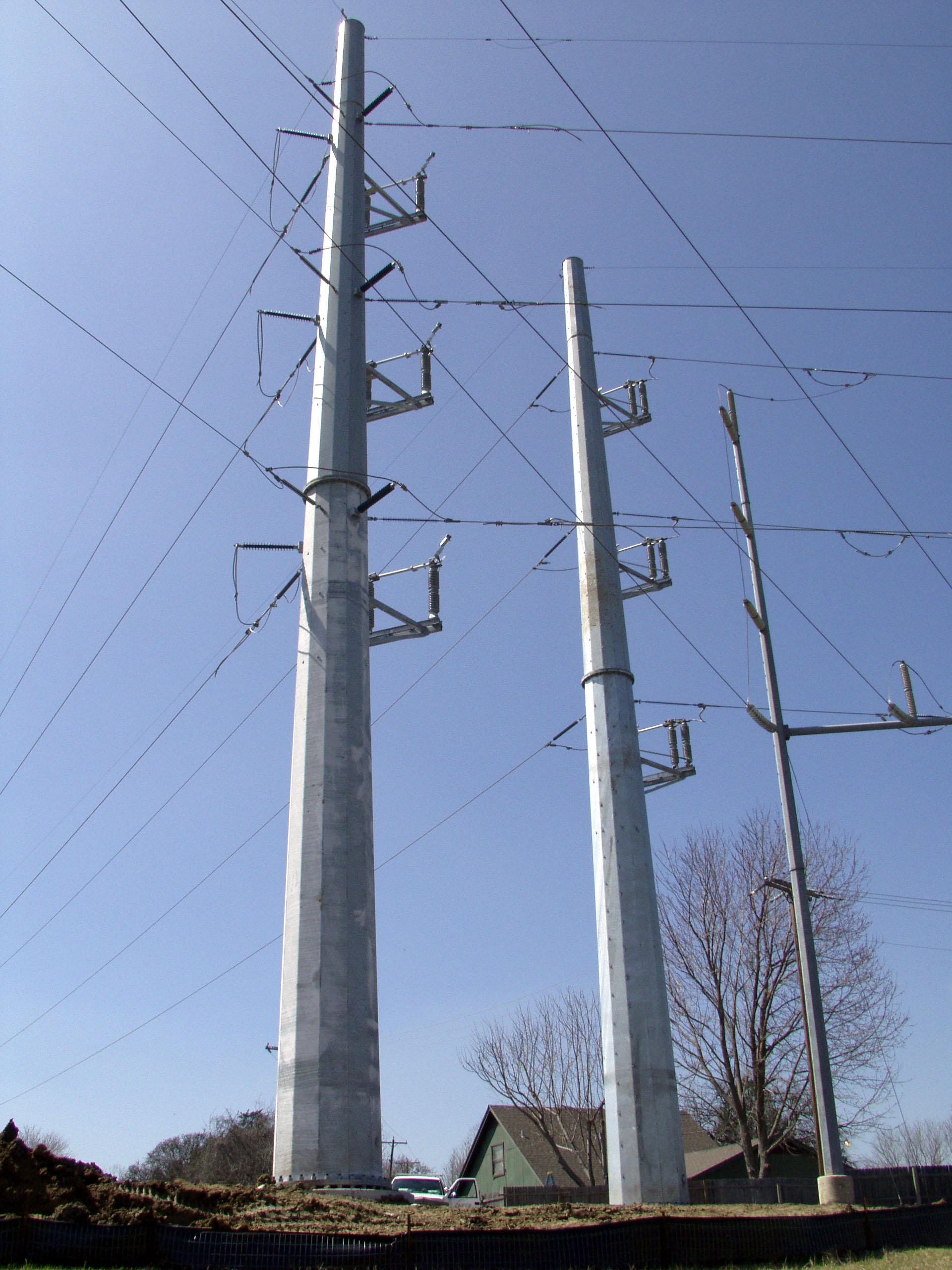 Free photo: Metal Power Pole - Electric, Feed, Fuse - Free Download - Jooinn