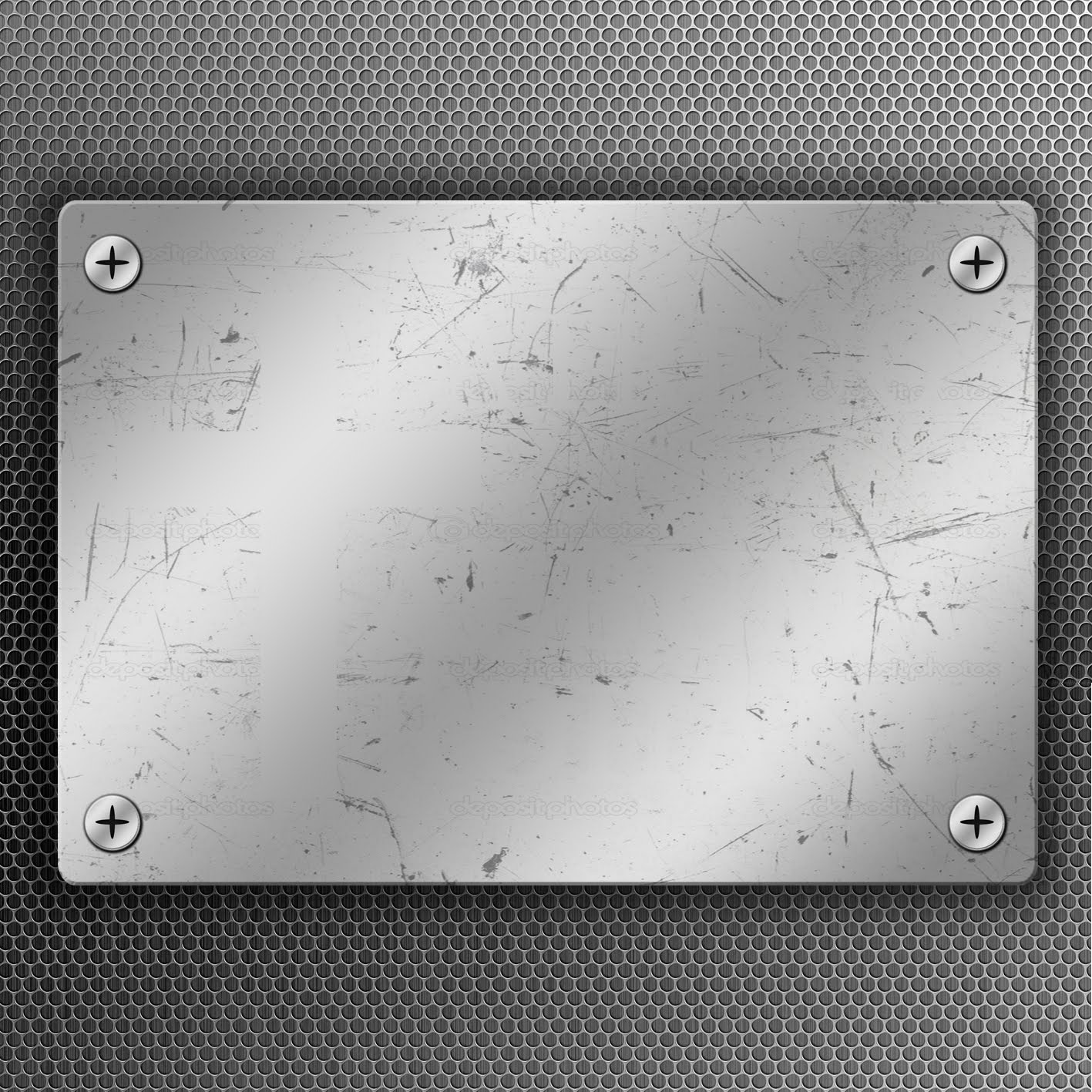 Tutorial Photoshop : Metal Plates - YouTube