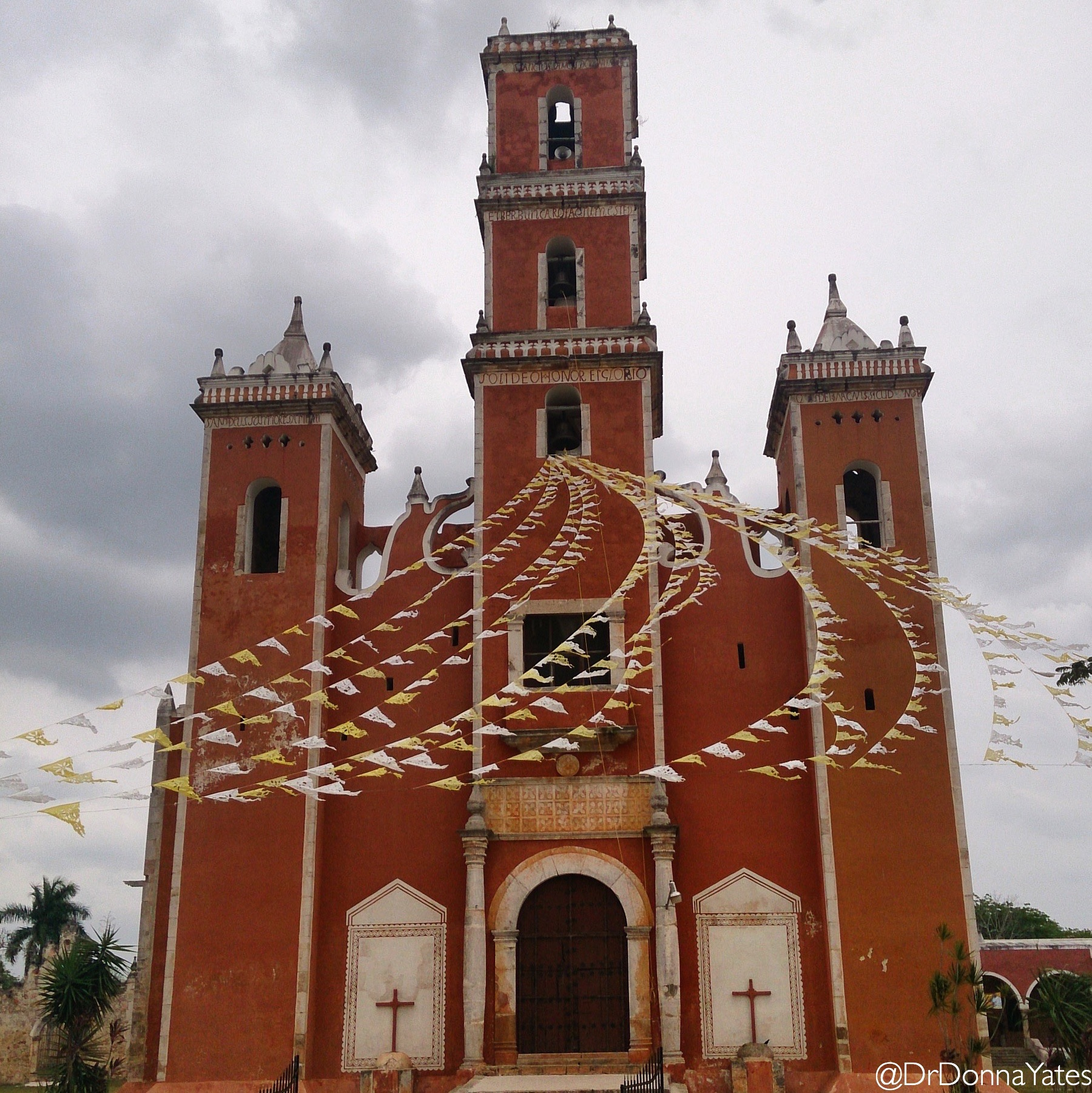 The bright beauty of Mexican village churches