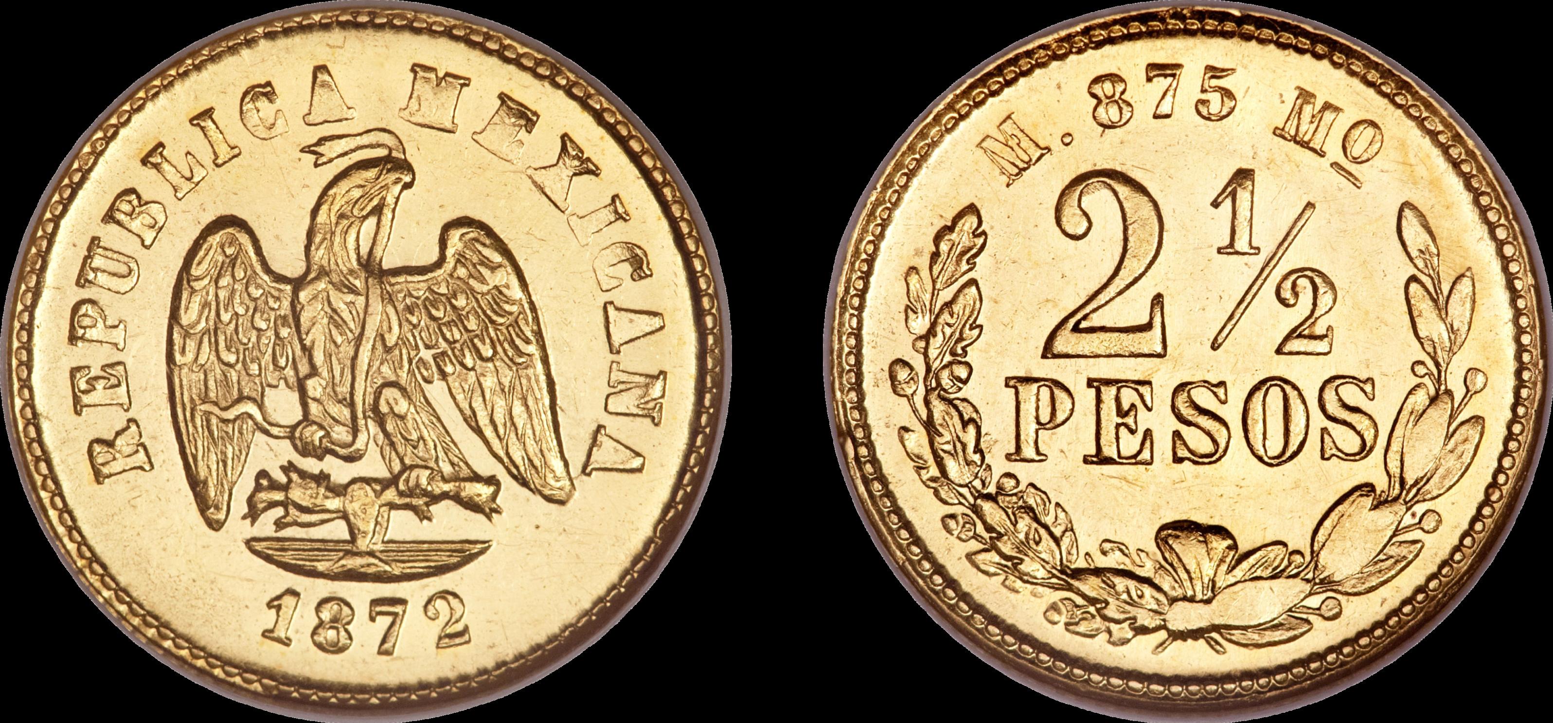 Mexican coin photo