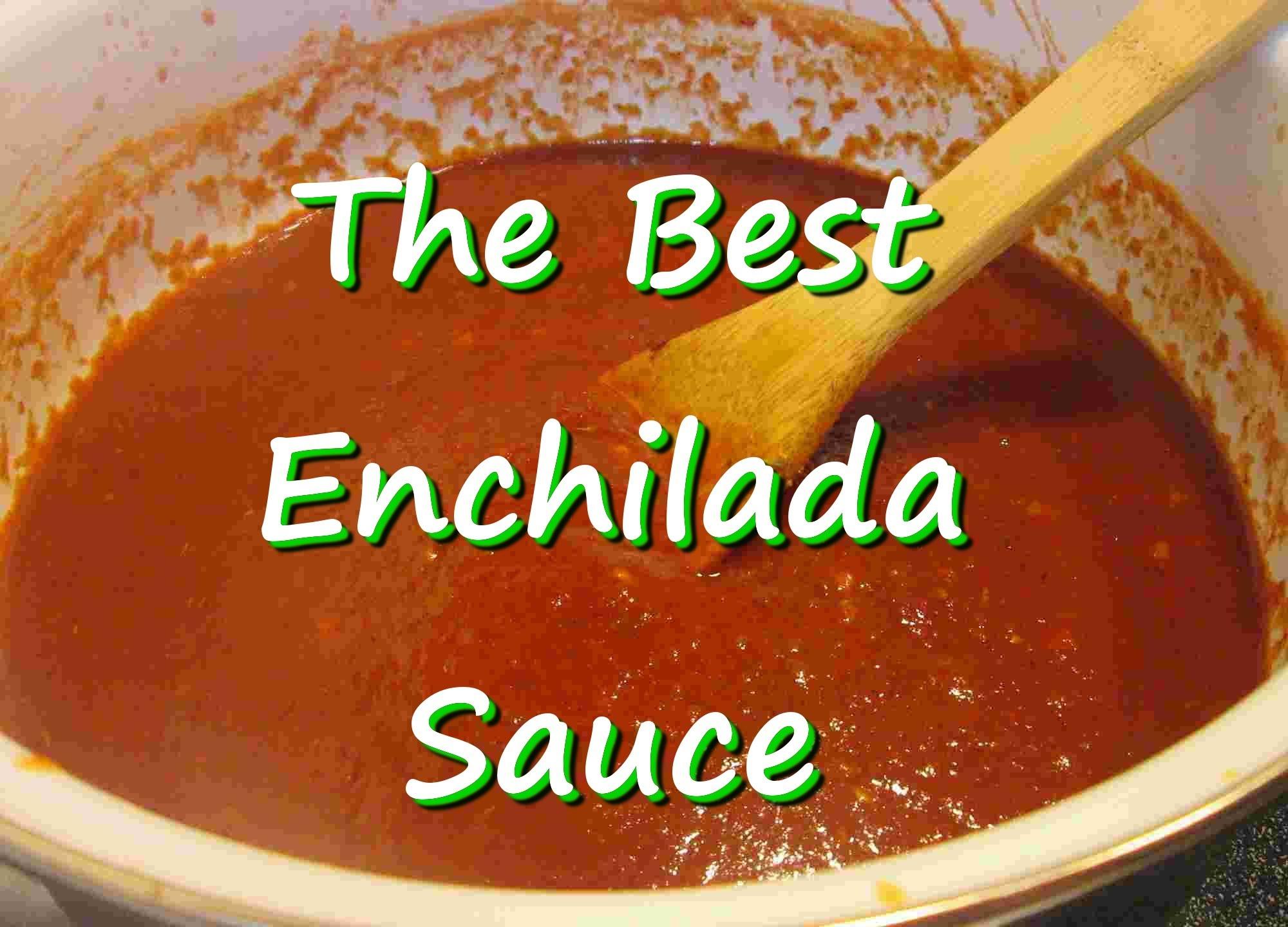 The Best Homemade Mexican Enchilada Sauce ~ Easy Enchilada Sauce ...