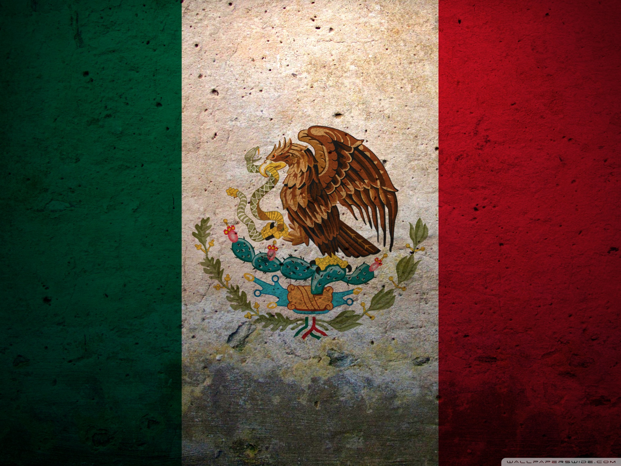 Grunge Flag Of Mexico ❤ 4K HD Desktop Wallpaper for 4K Ultra HD TV ...