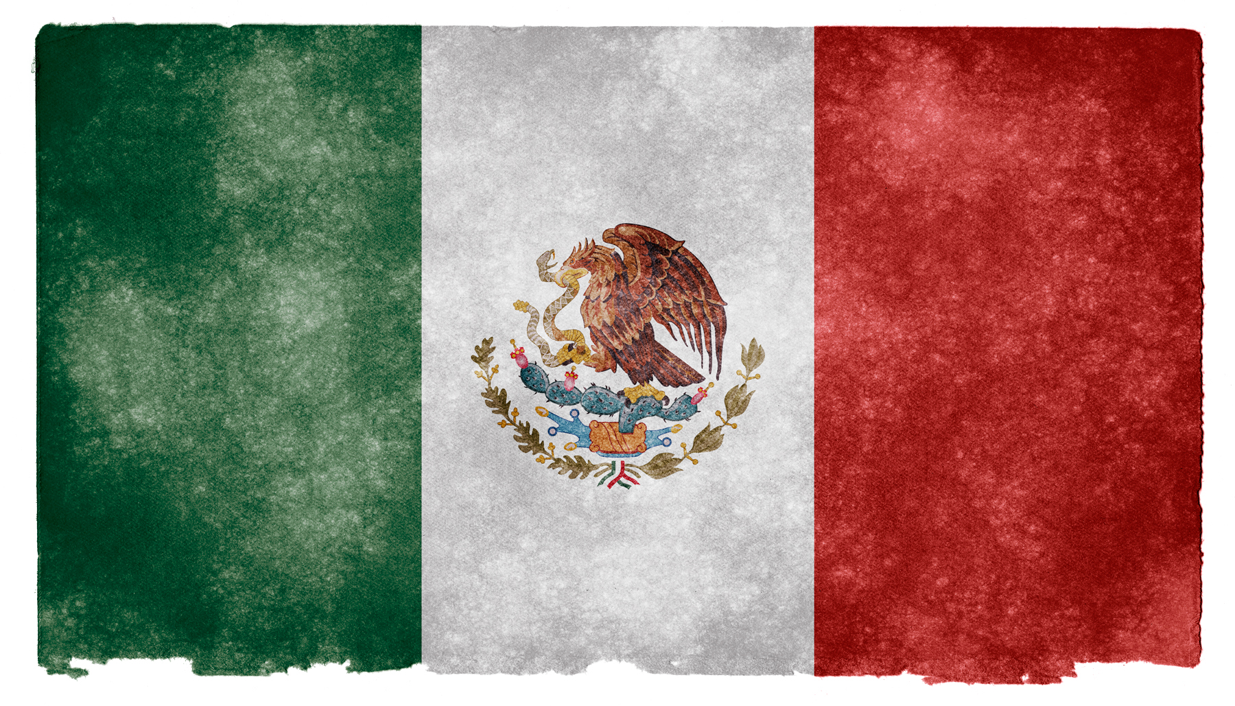 Mexico Grunge Flag, Aged, Retro, Nation, National, HQ Photo
