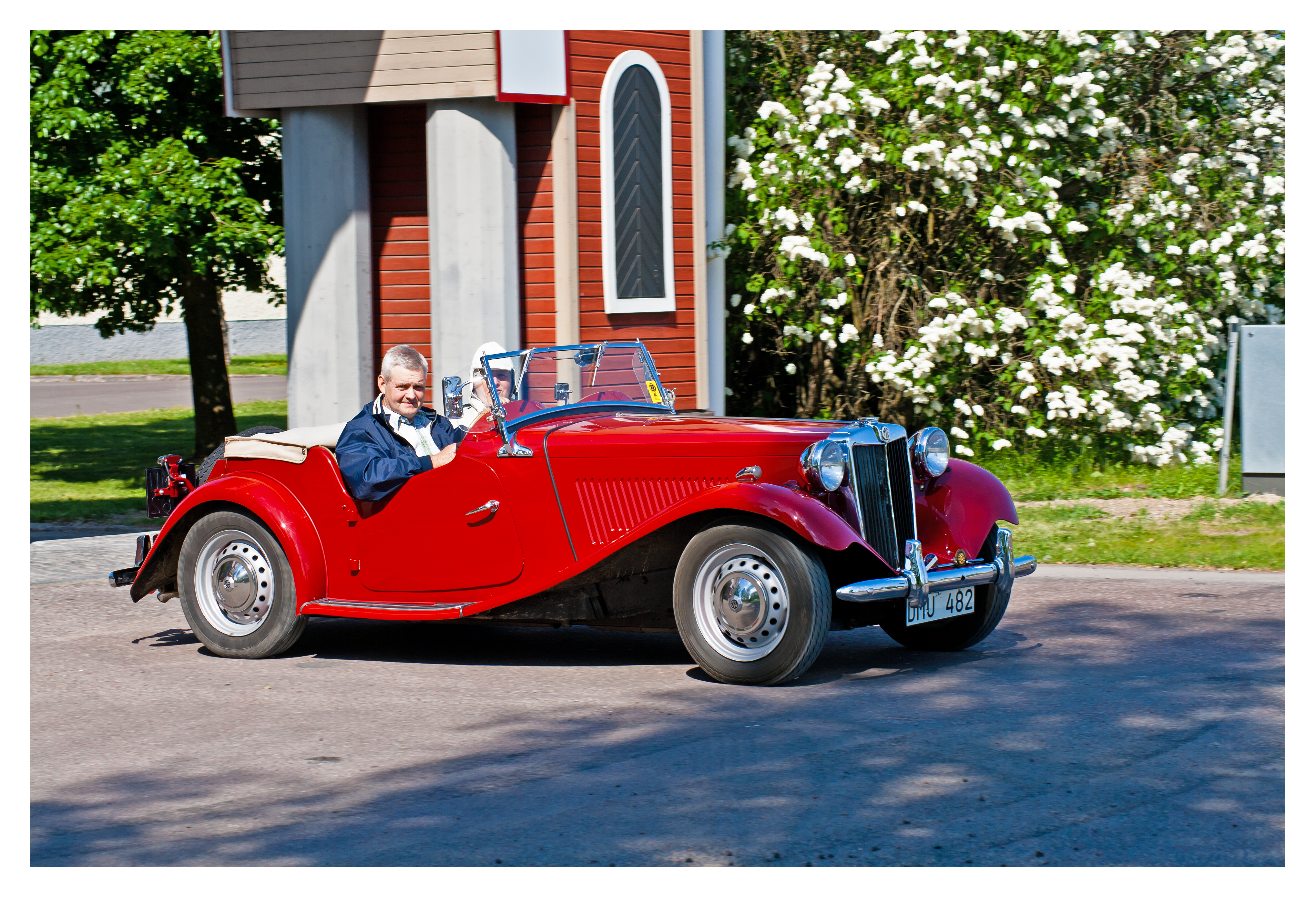 MG TD 1952, 1952, Car, MG, HQ Photo
