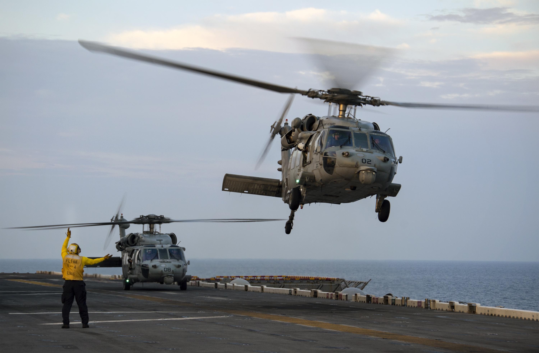 Mh-60s sea hawk helecopter photo