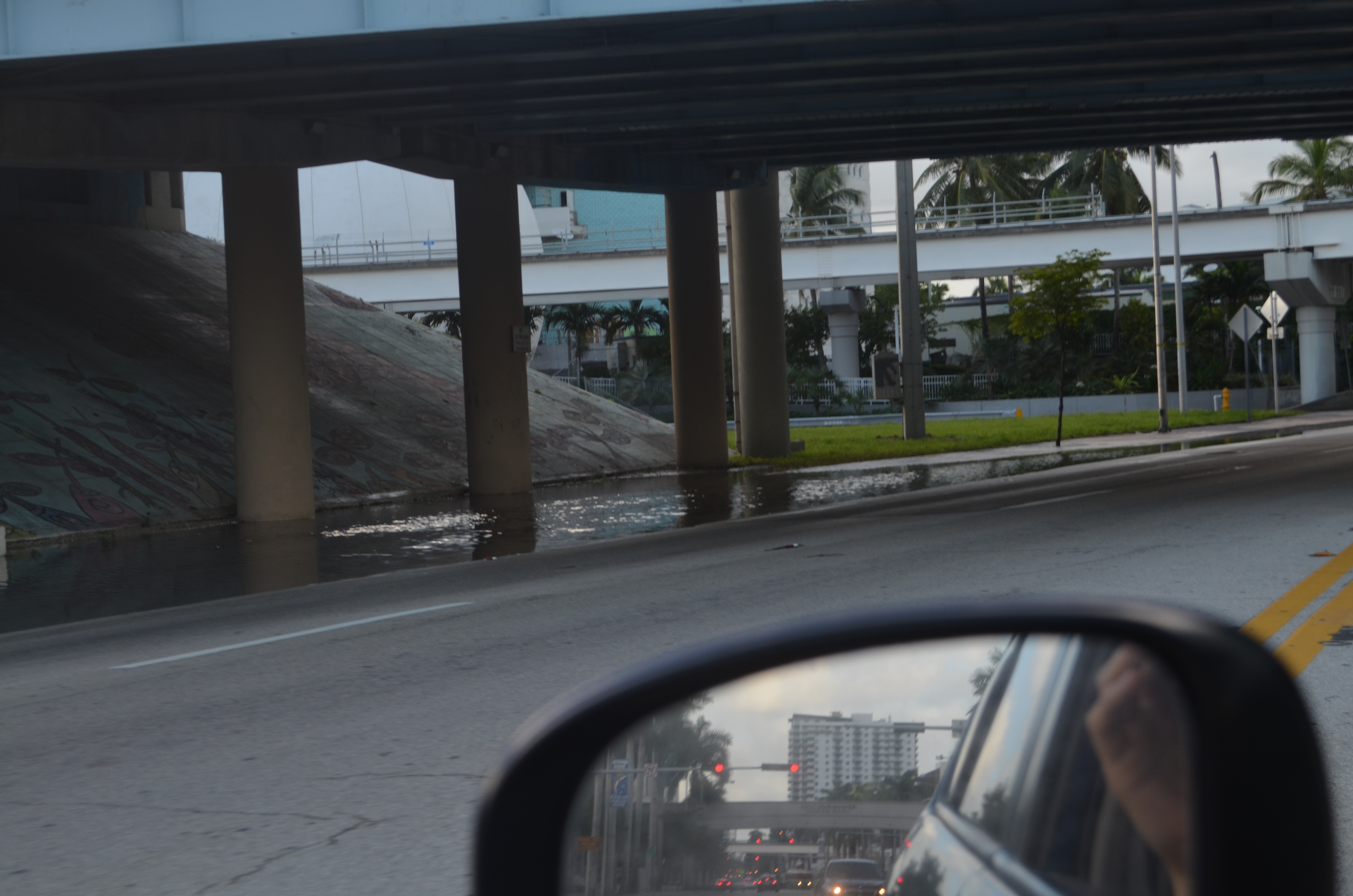 Miami beach tidal flooding cont'd photo