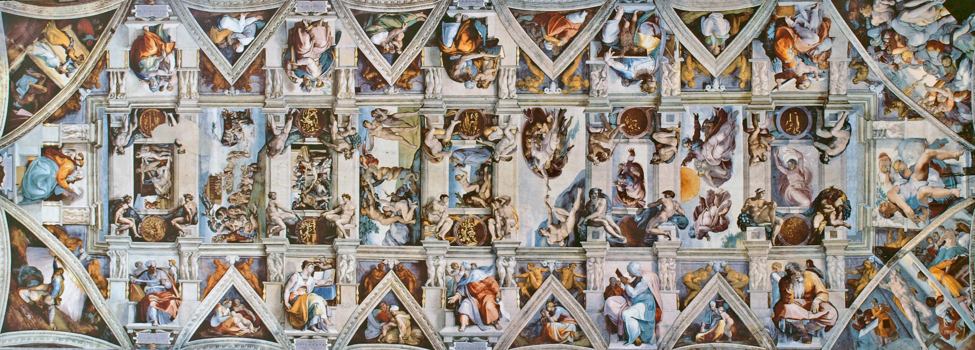 Michelangelo sistine chapel photo