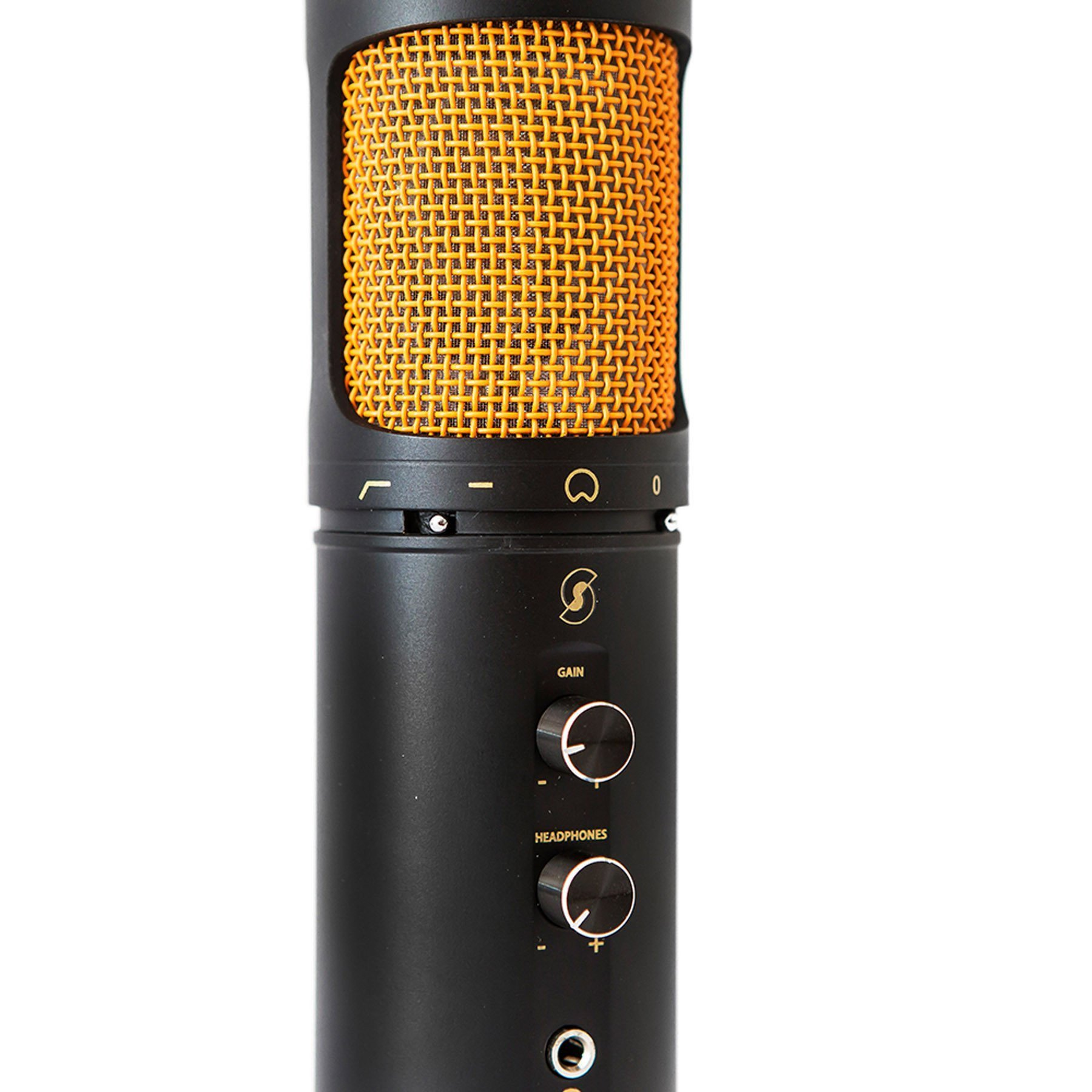 SL600 Condenser USB Microphone with Live Monitoring – Editors Keys