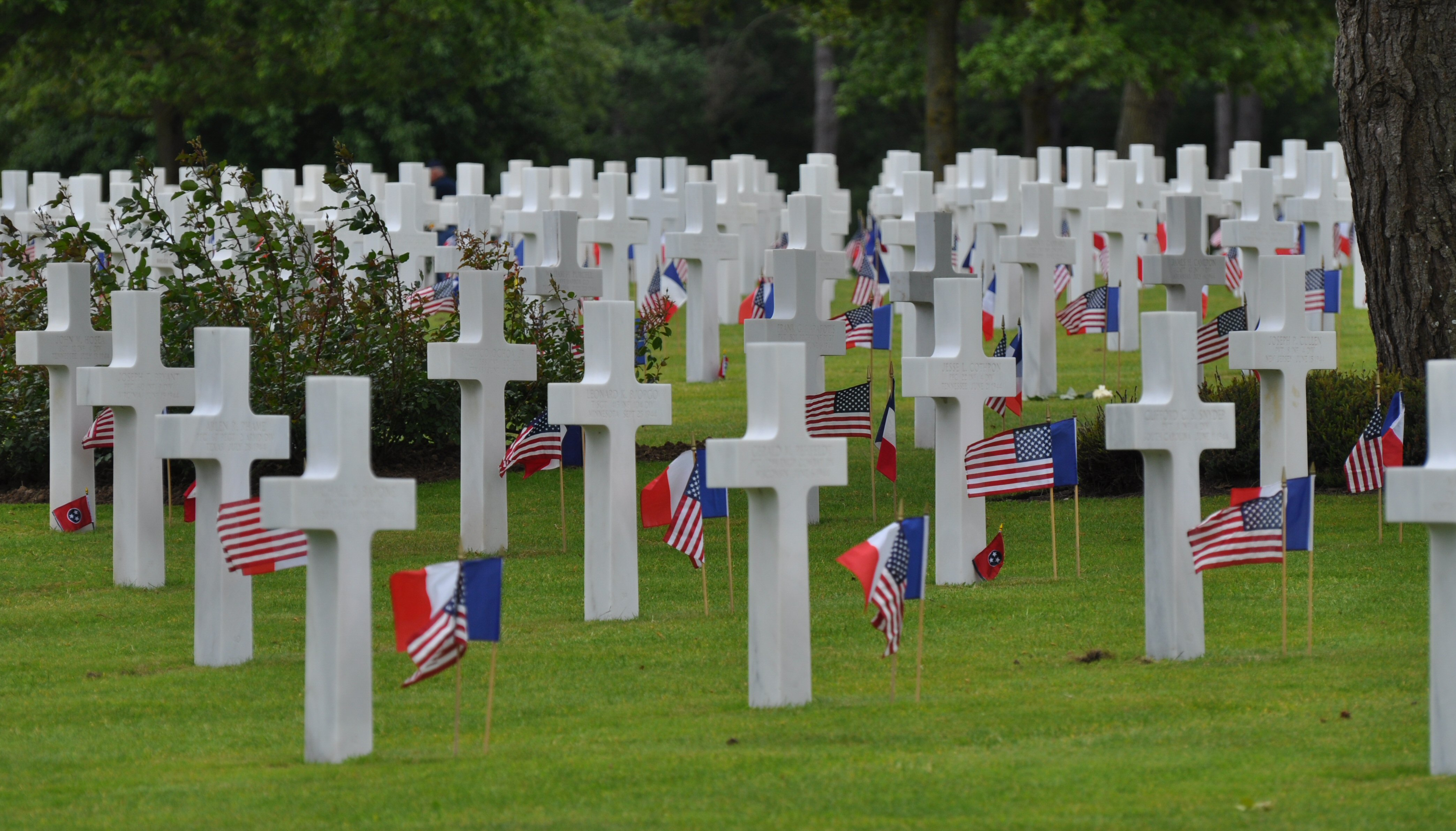 2 – American military cemeteries in Normandy and Luxembourg | wanderings