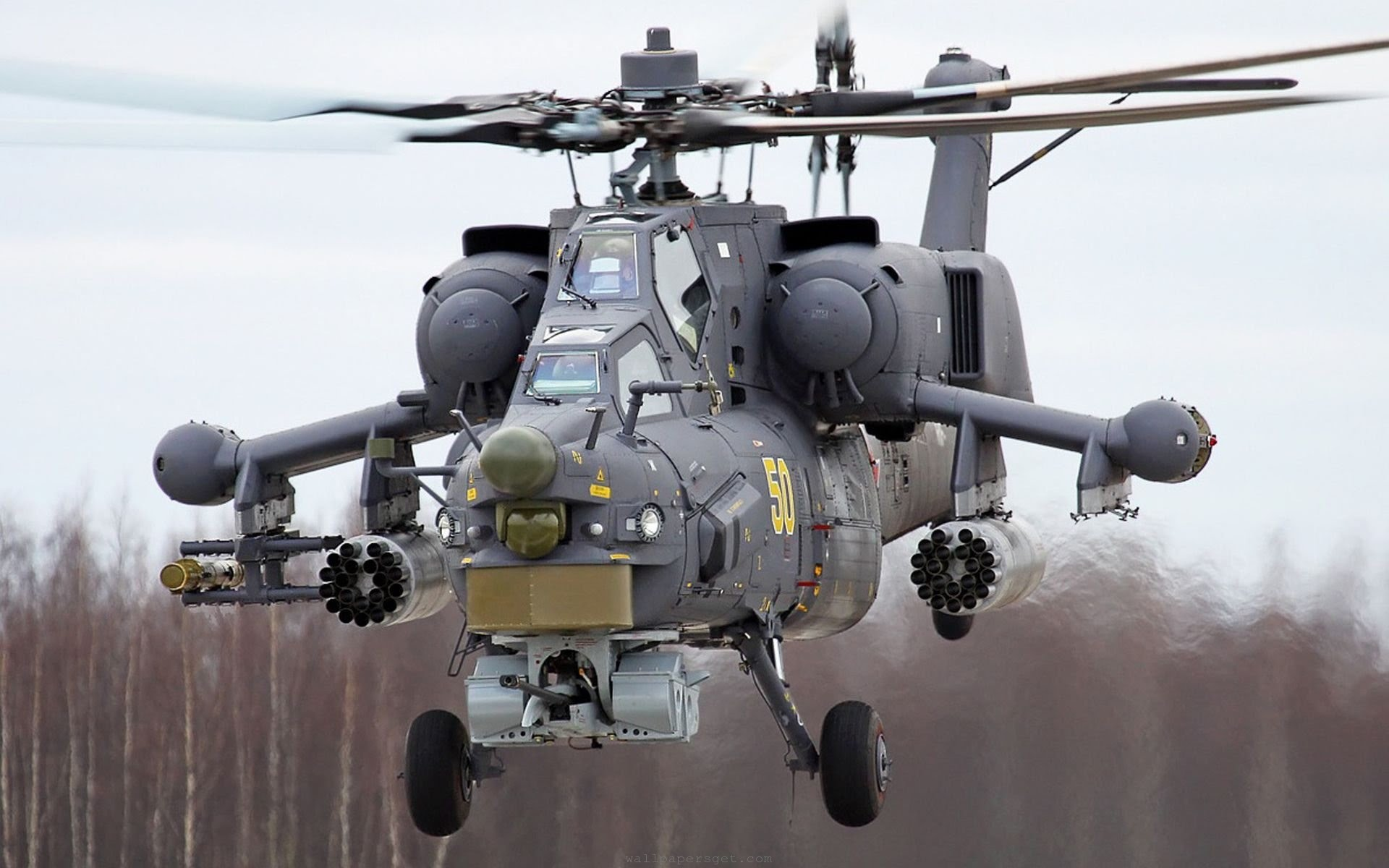 Military helicopter photo