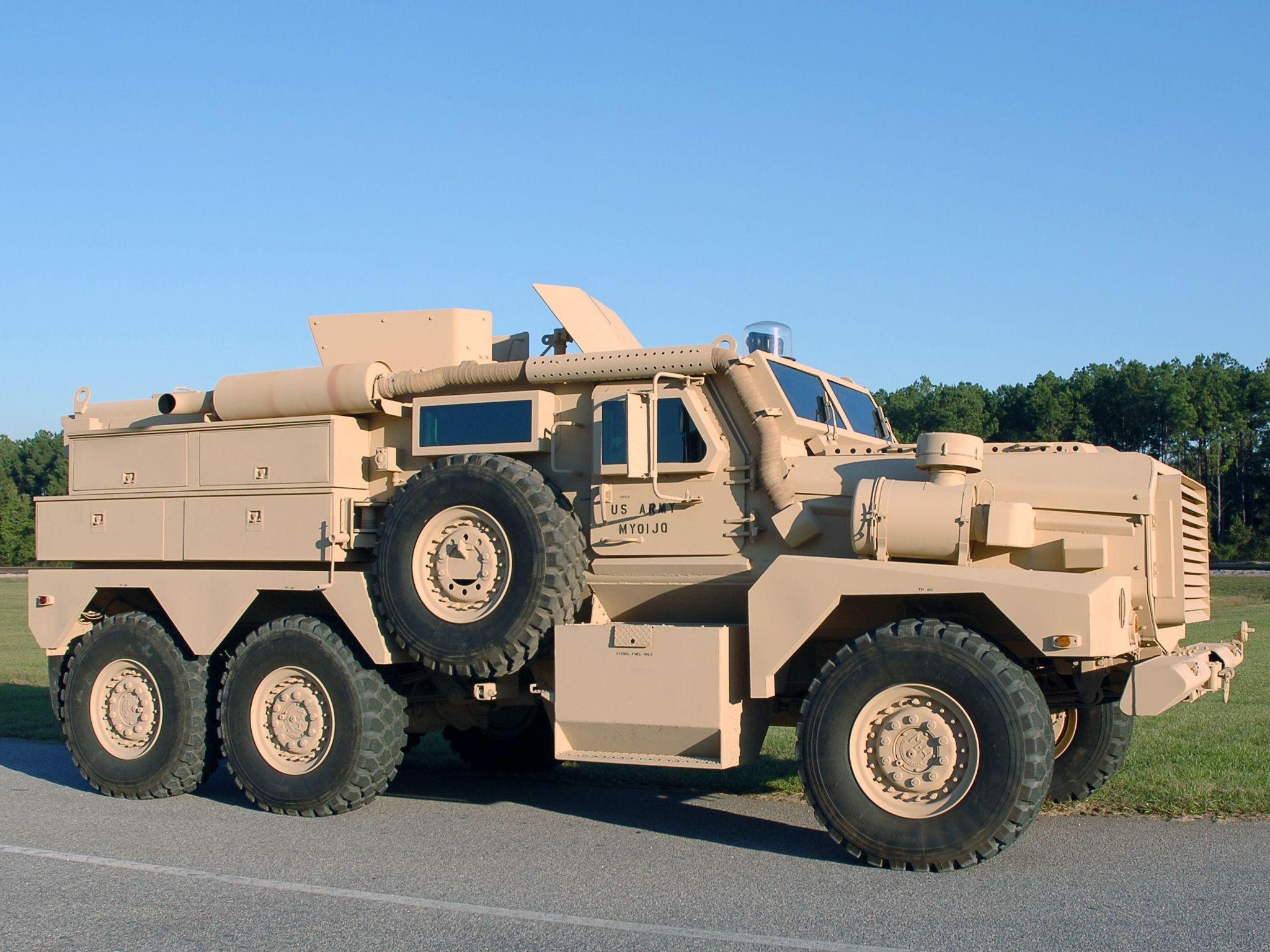 Military truck wheel photo