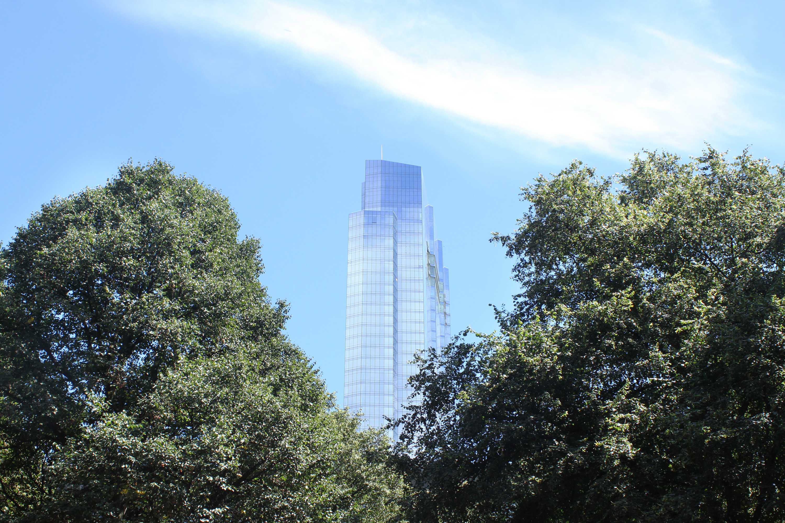 Millenium tower building in Boston, Aerial, Skyline, Office, Outdoor, HQ Photo