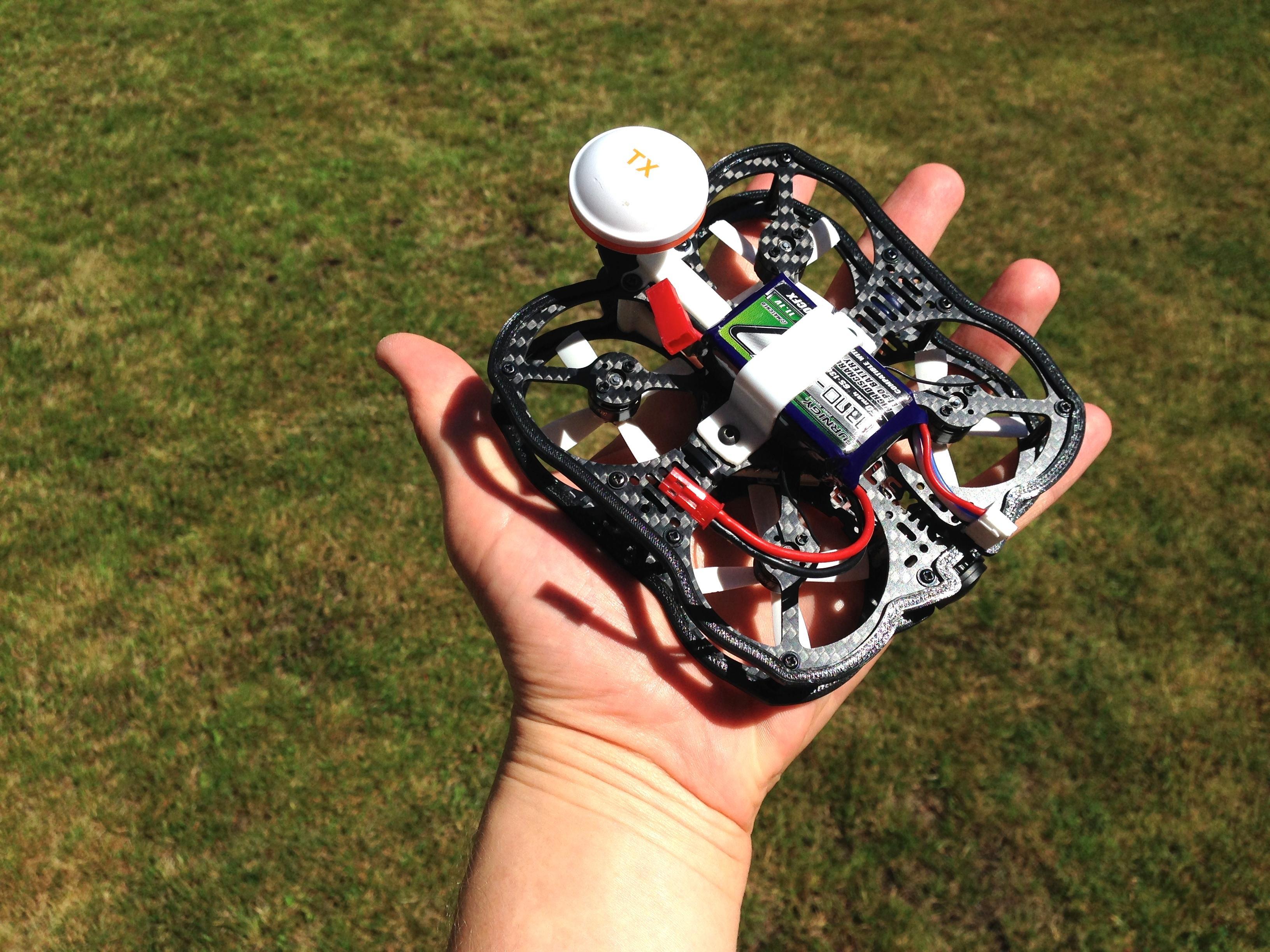 FlexRC Mini Owl with RunCam Owl camera : Multicopter