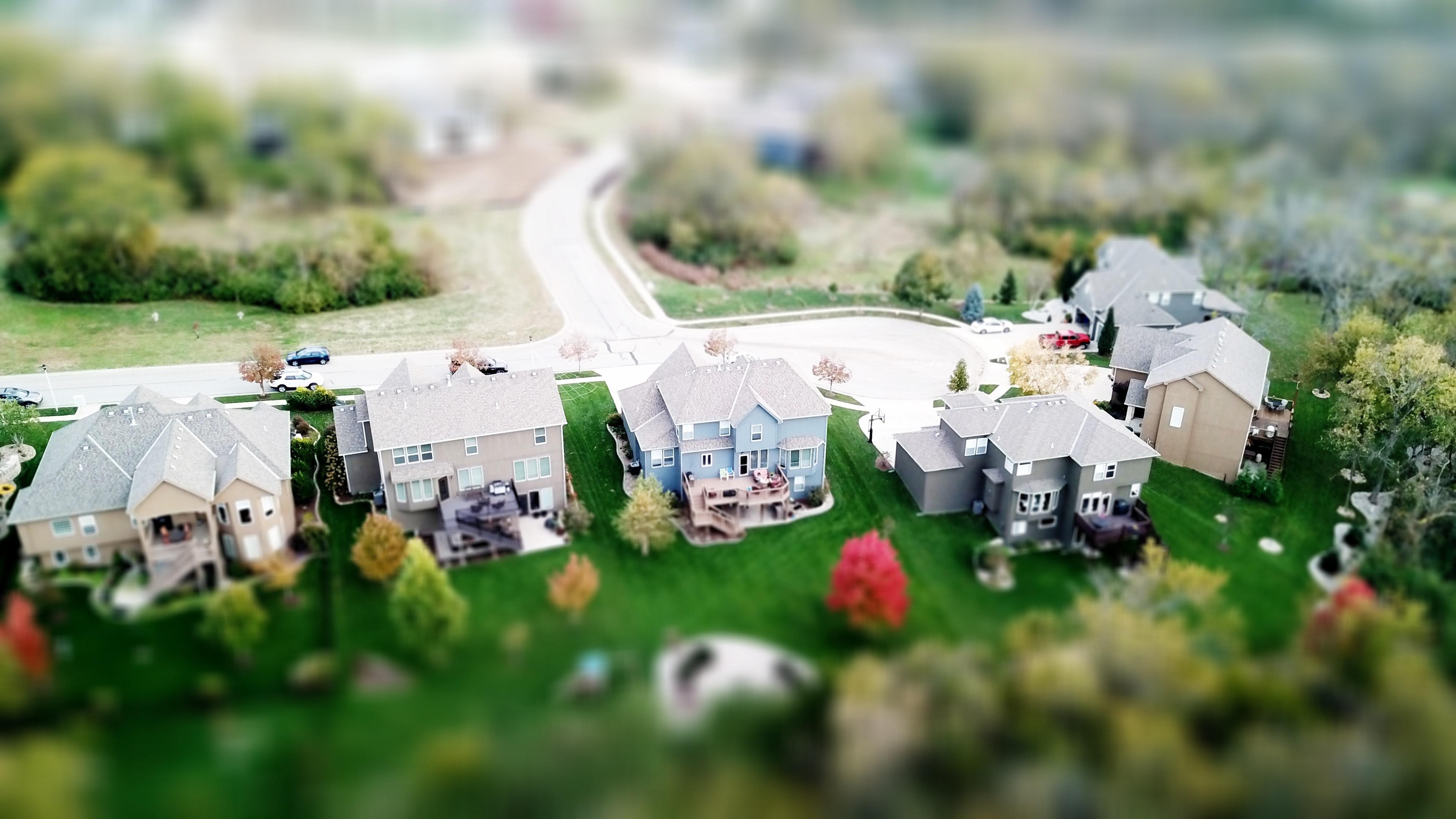 Miniature village photo