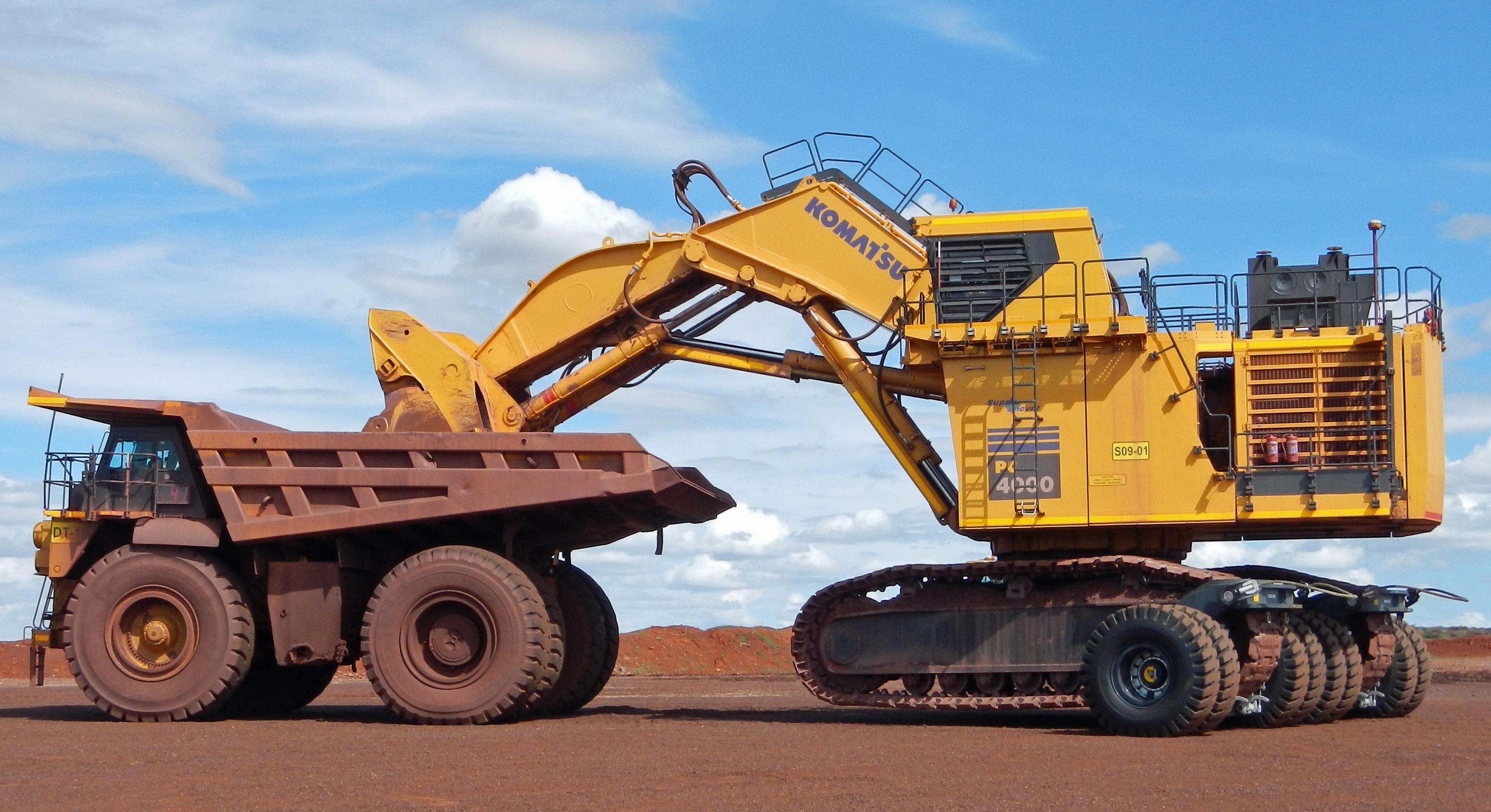 Sleipner excavator transporting systems