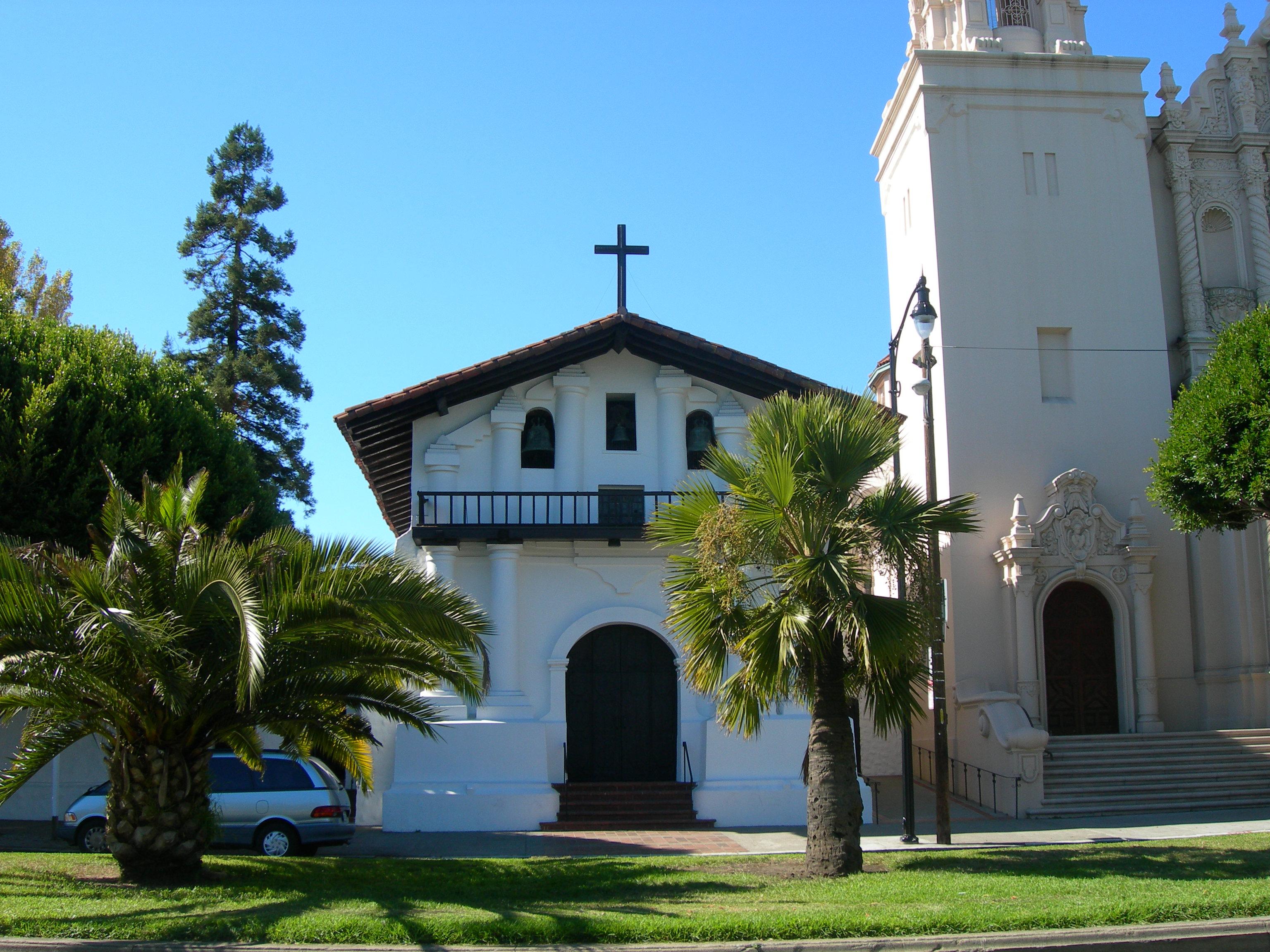 Mission Dolores in San Francisco, Adobe, Church, Cross, Francisco, HQ Photo
