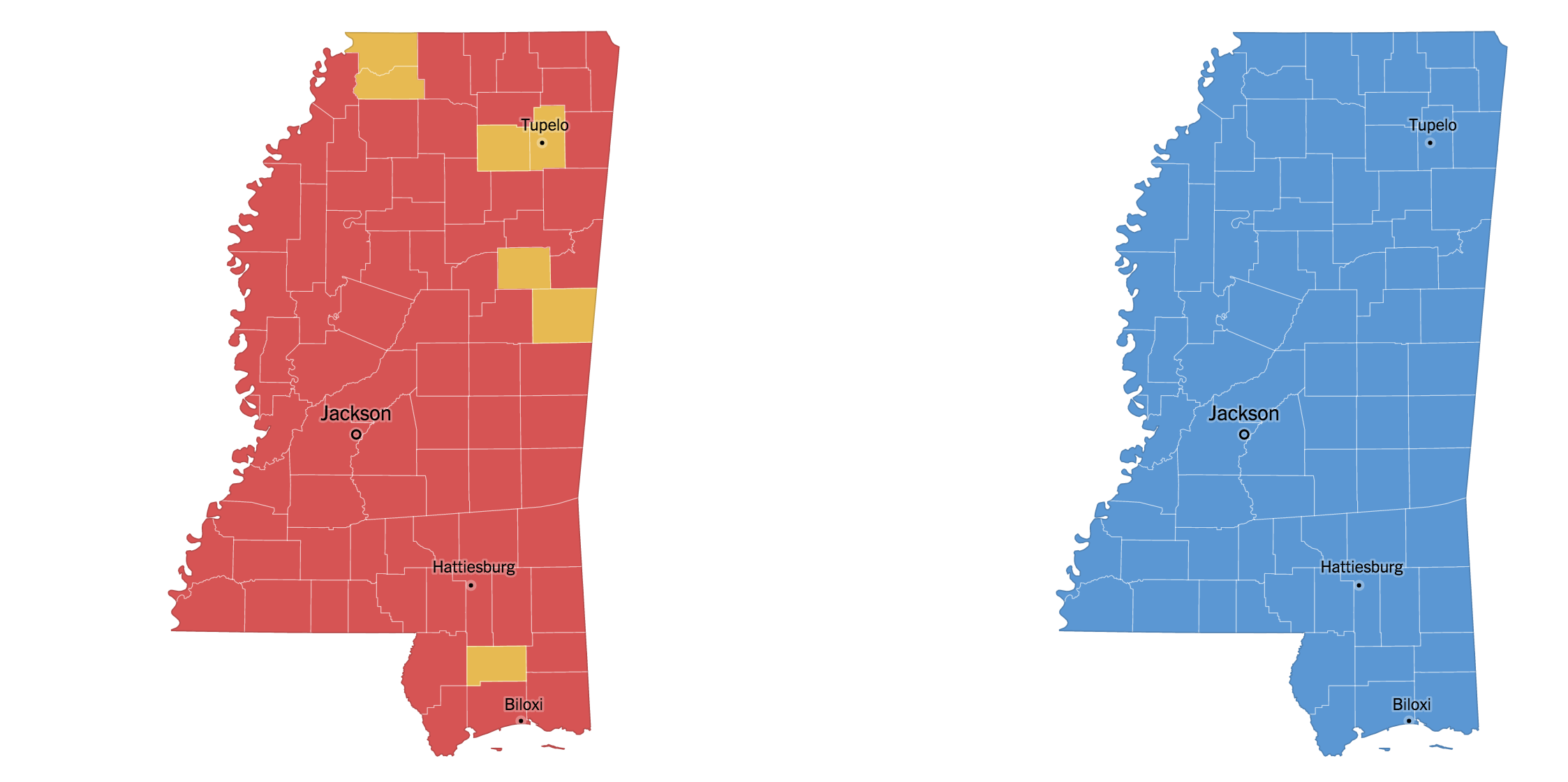 Mississippi Primary Election Results 2016 - The New York Times