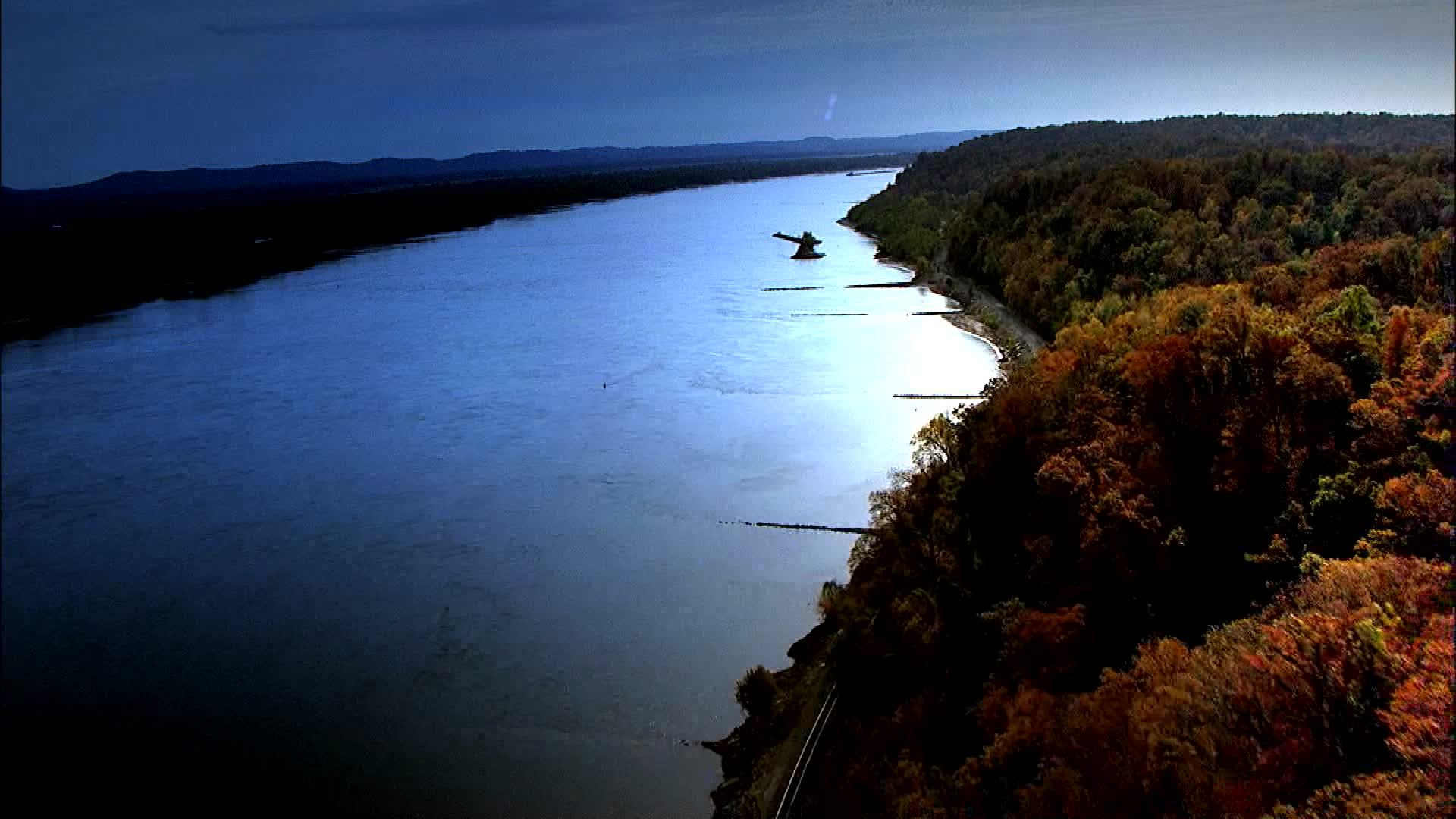 Mississippi River Aerial Tour | Chickasaw.tv