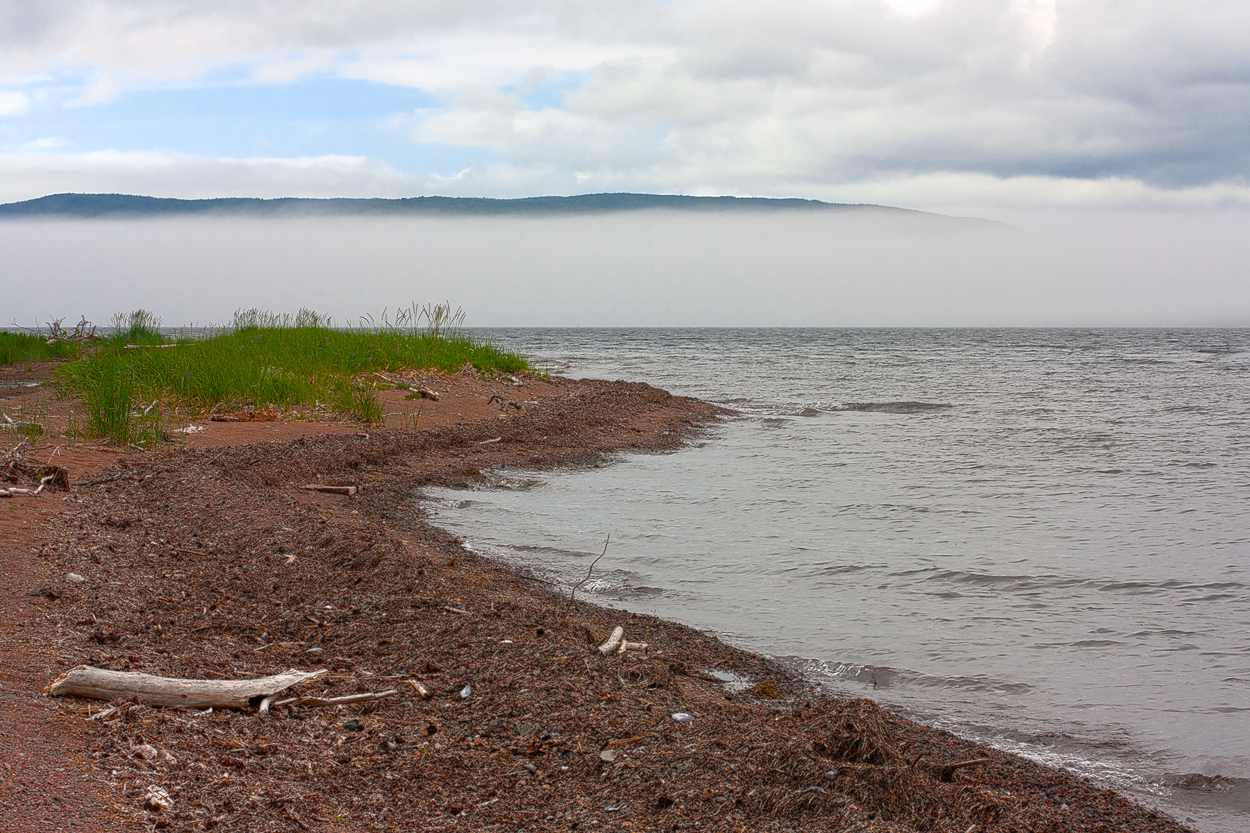 Misty Cabot Trail Scenery - HDR, Angle, Outside, Range, Picture, HQ Photo