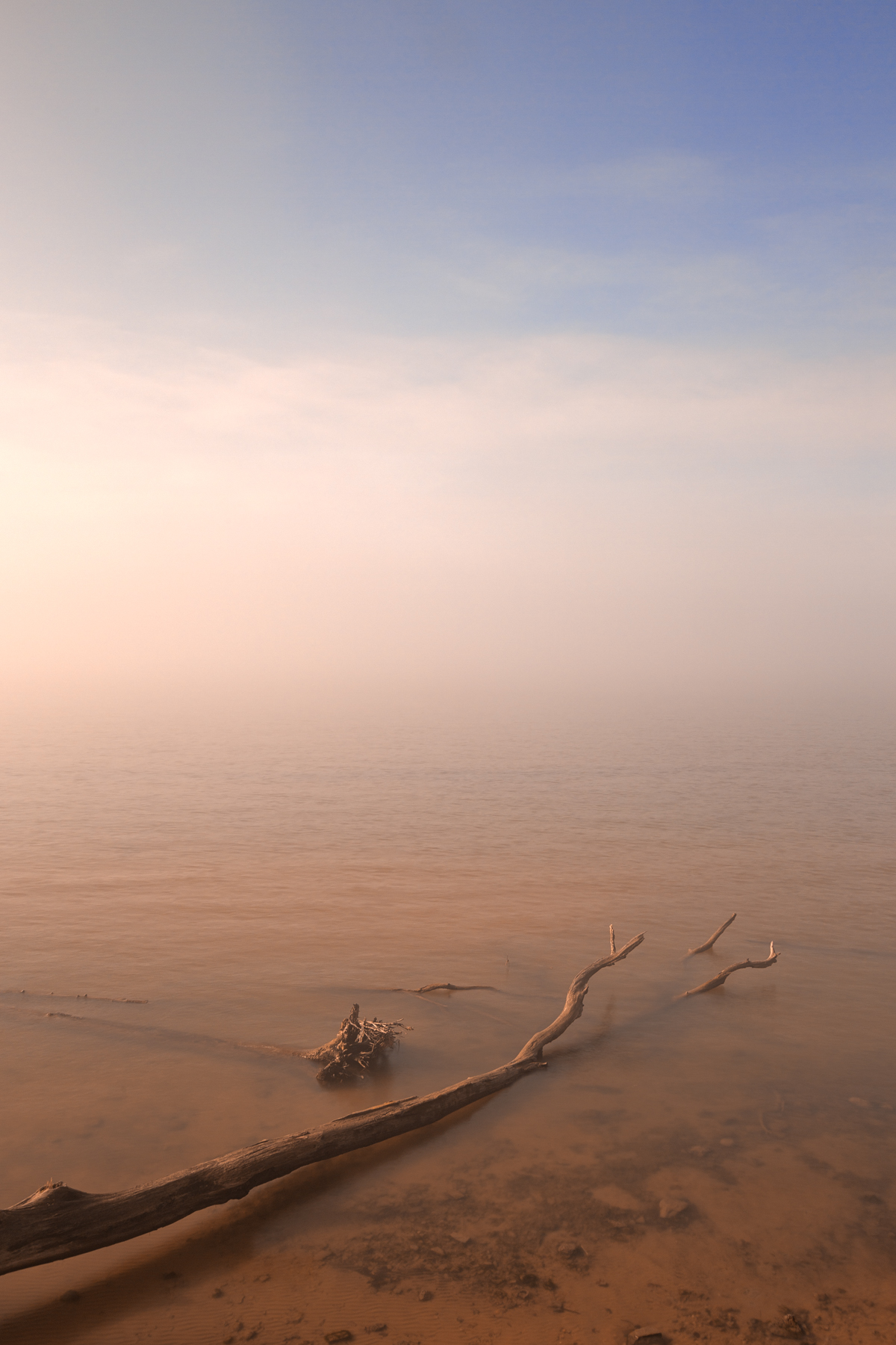 Misty chesapeake bay - hdr photo