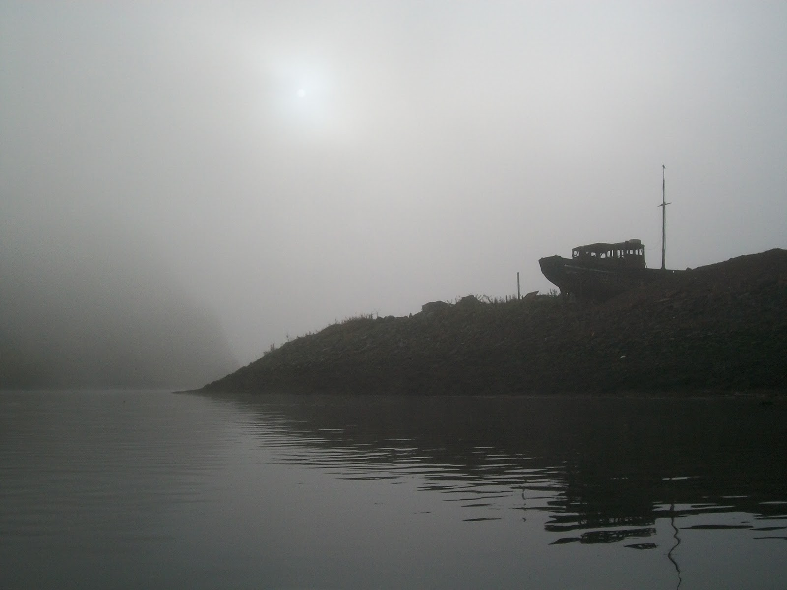 Rivers: Misty Spooky Water Morning Waters River Fog Image Gallery ...