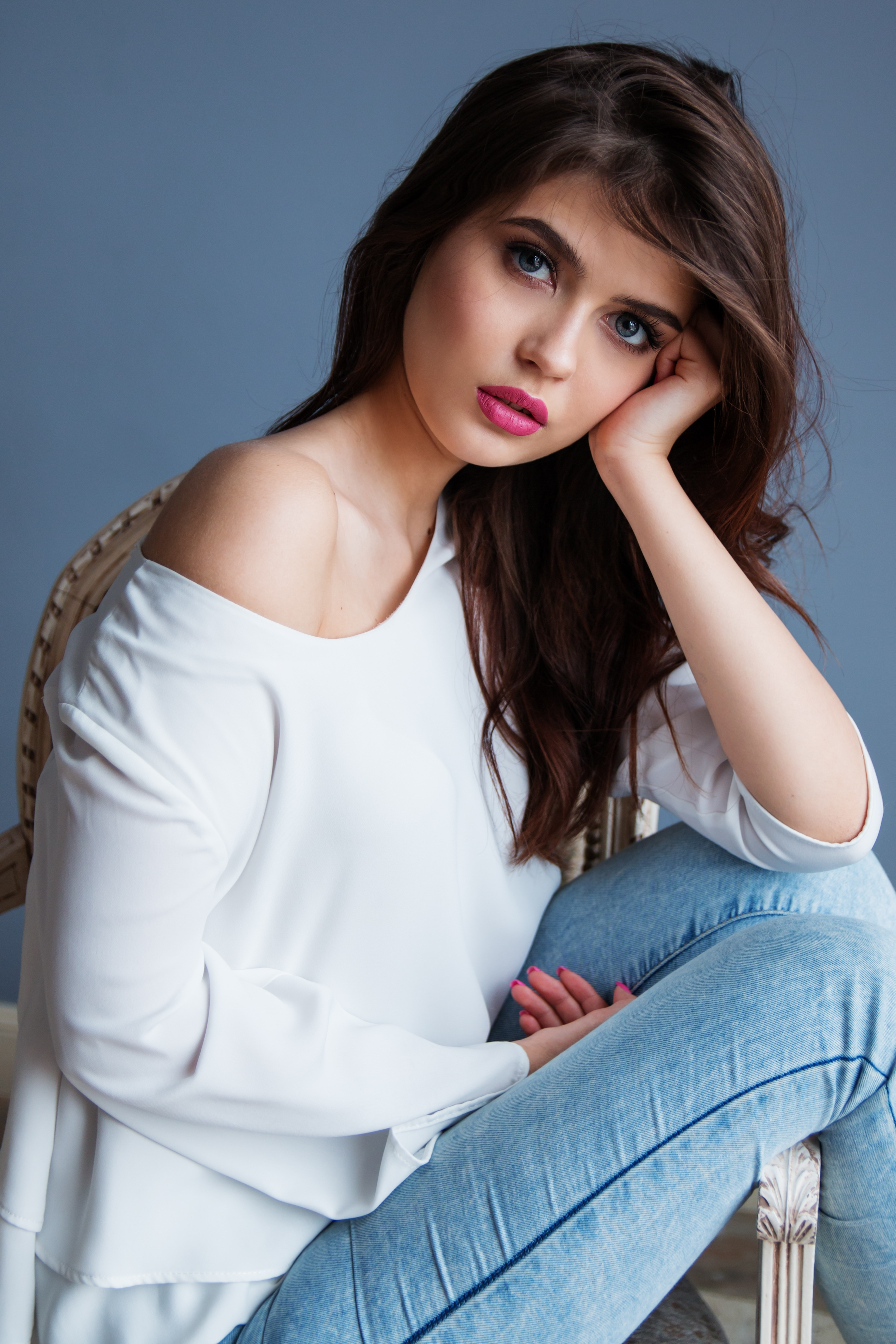 Model Girl, Portrait, Pose, Woman, Photoshoot, HQ Photo