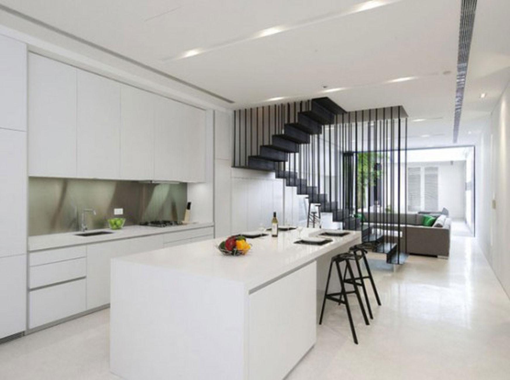 Modern building interior photo