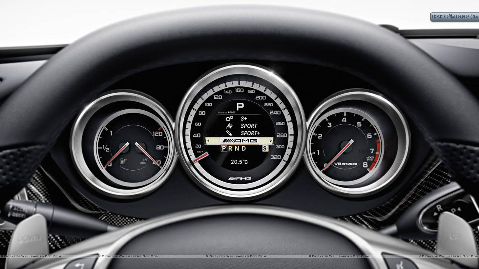 Modern car dashboard photo