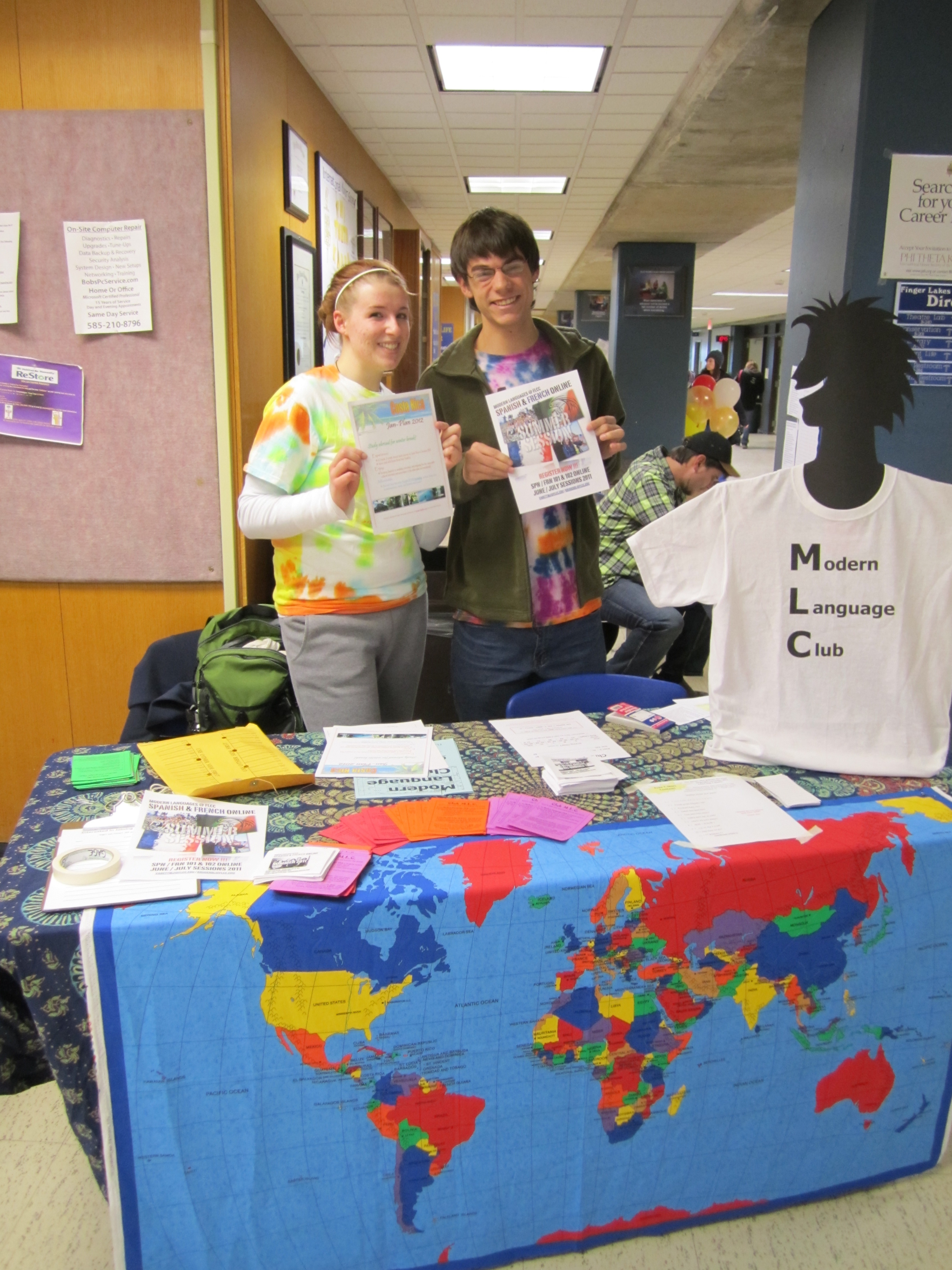 Modern languages @ flcc: on campus photo