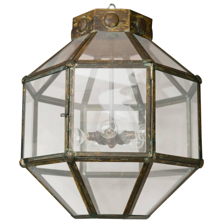 Italian Antiqued Brass Lantern/ Multiples available | Brass lantern ...