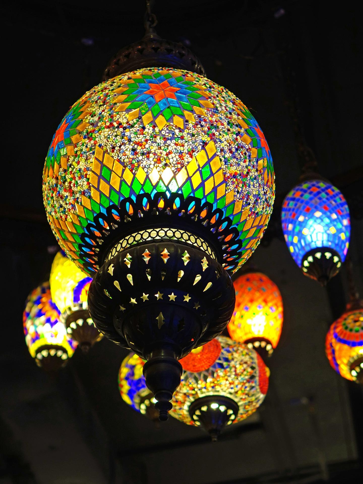 Modern Lanterns, Round, Modern, Light, Lamp, HQ Photo
