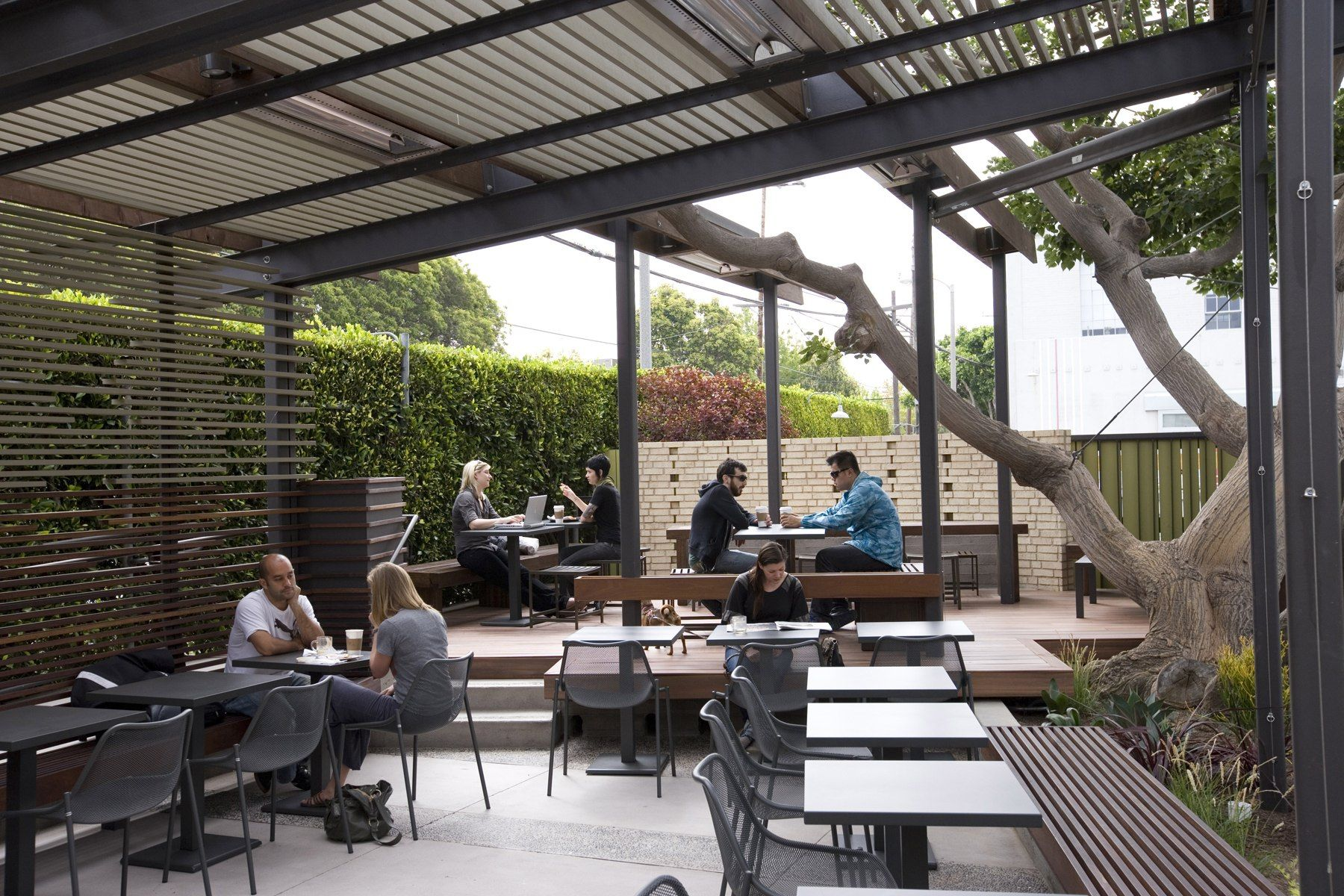 Rose Cafe in Venice gets a face-lift by DEX Design Studio - latimes ...
